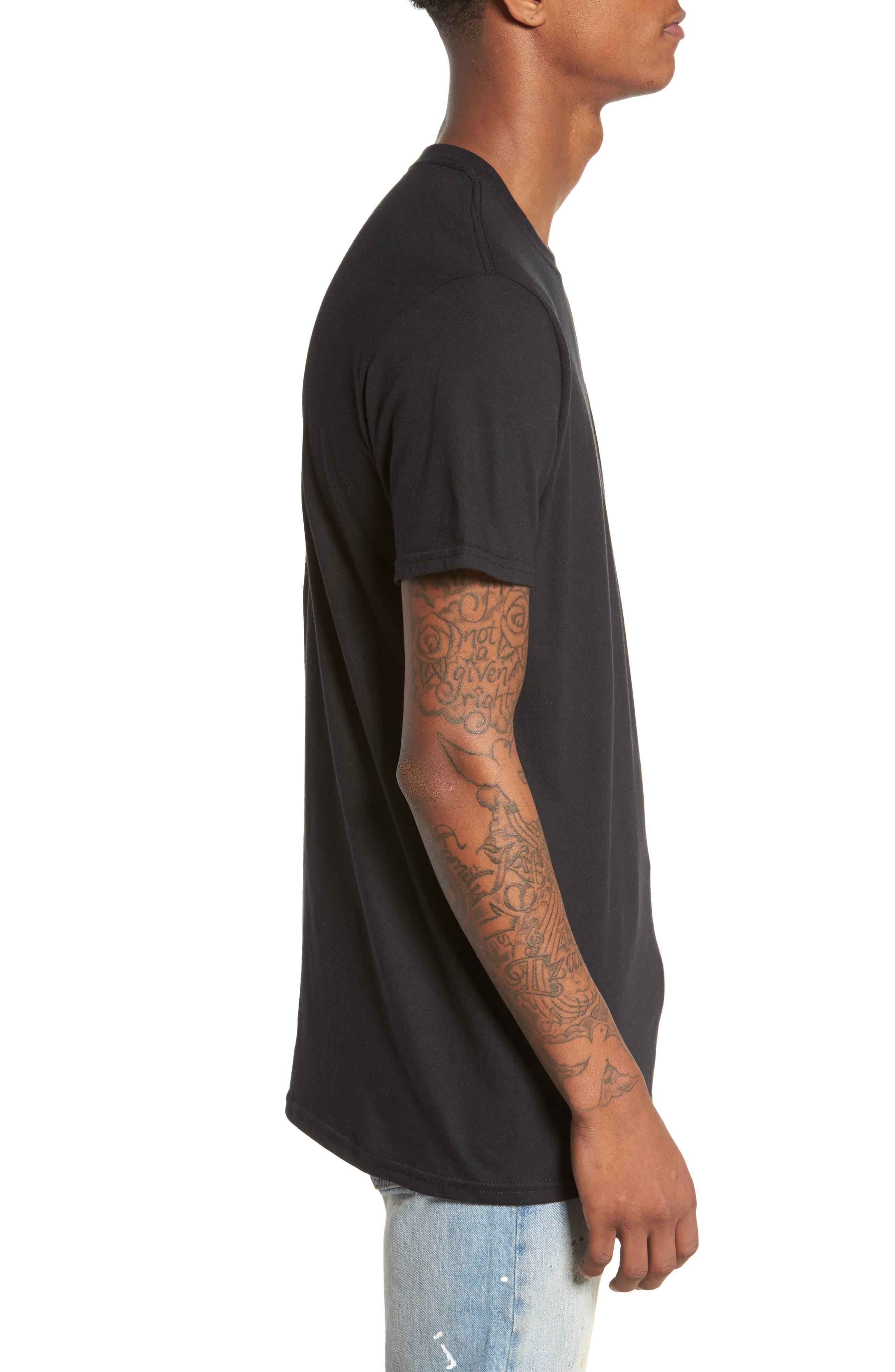 Blessed T-Shirt,                             Alternate thumbnail 3, color,                             Black Blessed