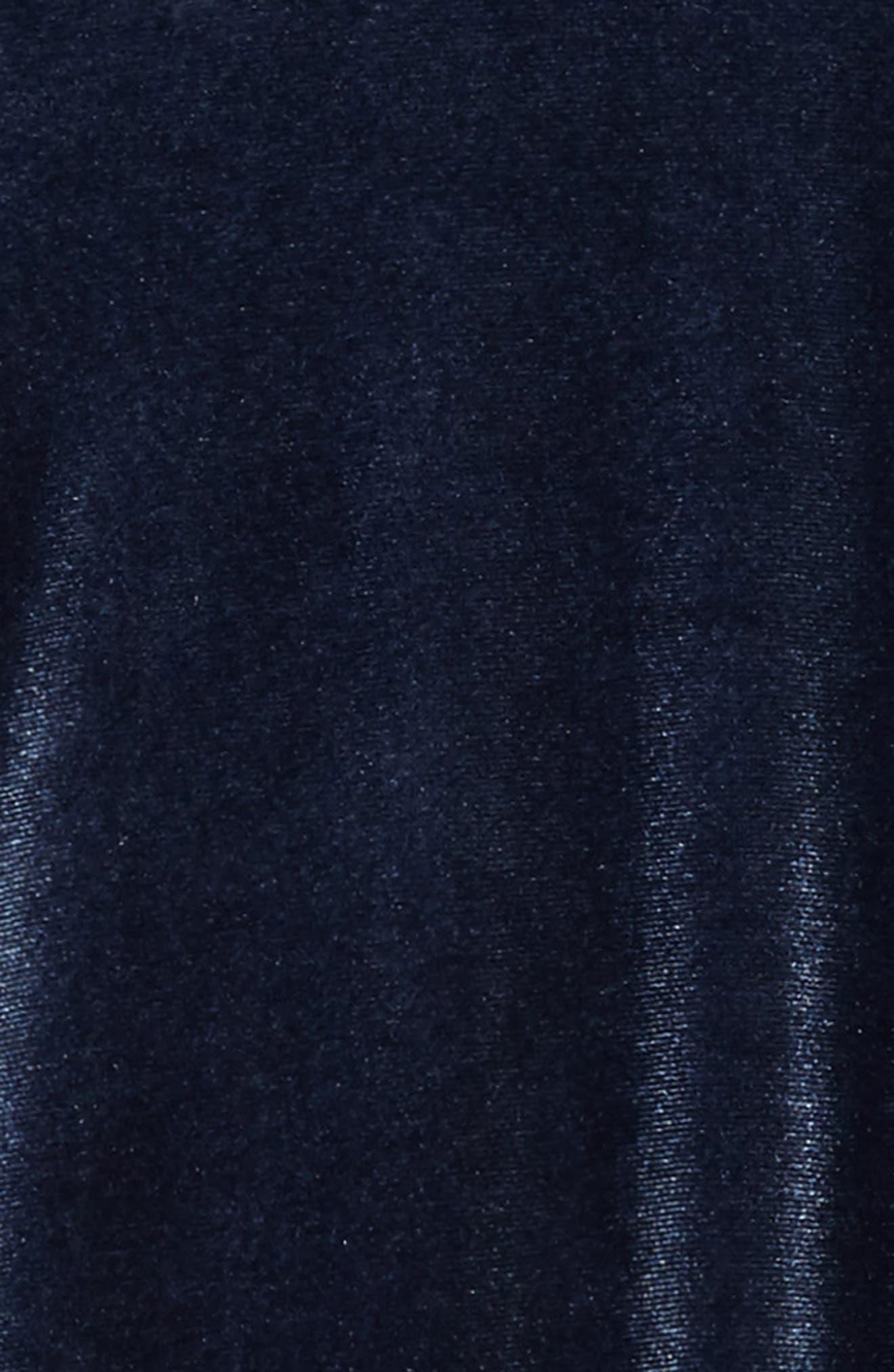 Alternate Image 3  - Splendid Velour Shift Dress (Big Girls)