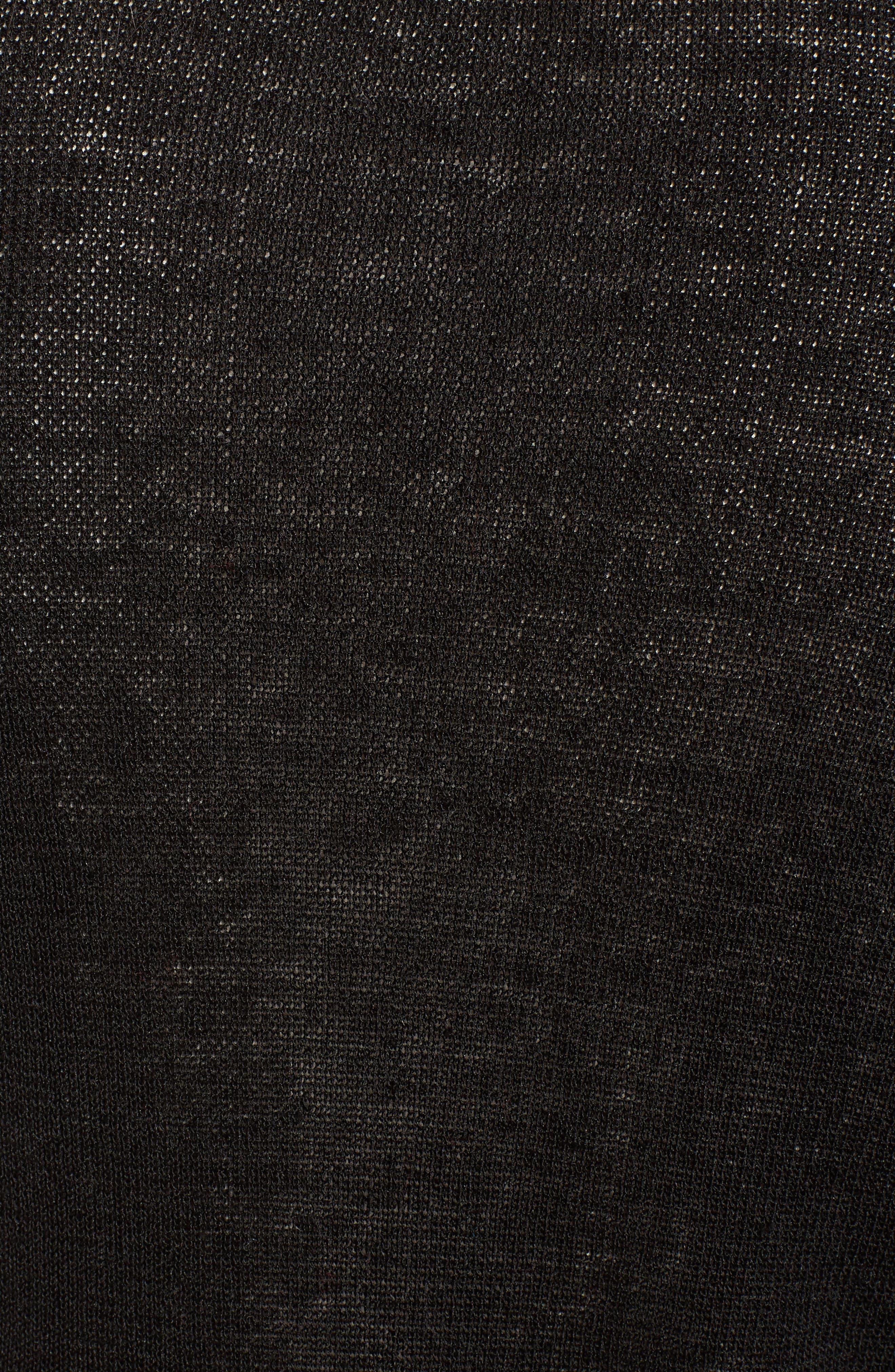 Alternate Image 5  - Eileen Fisher Fine Organic Linen Blend Cardigan