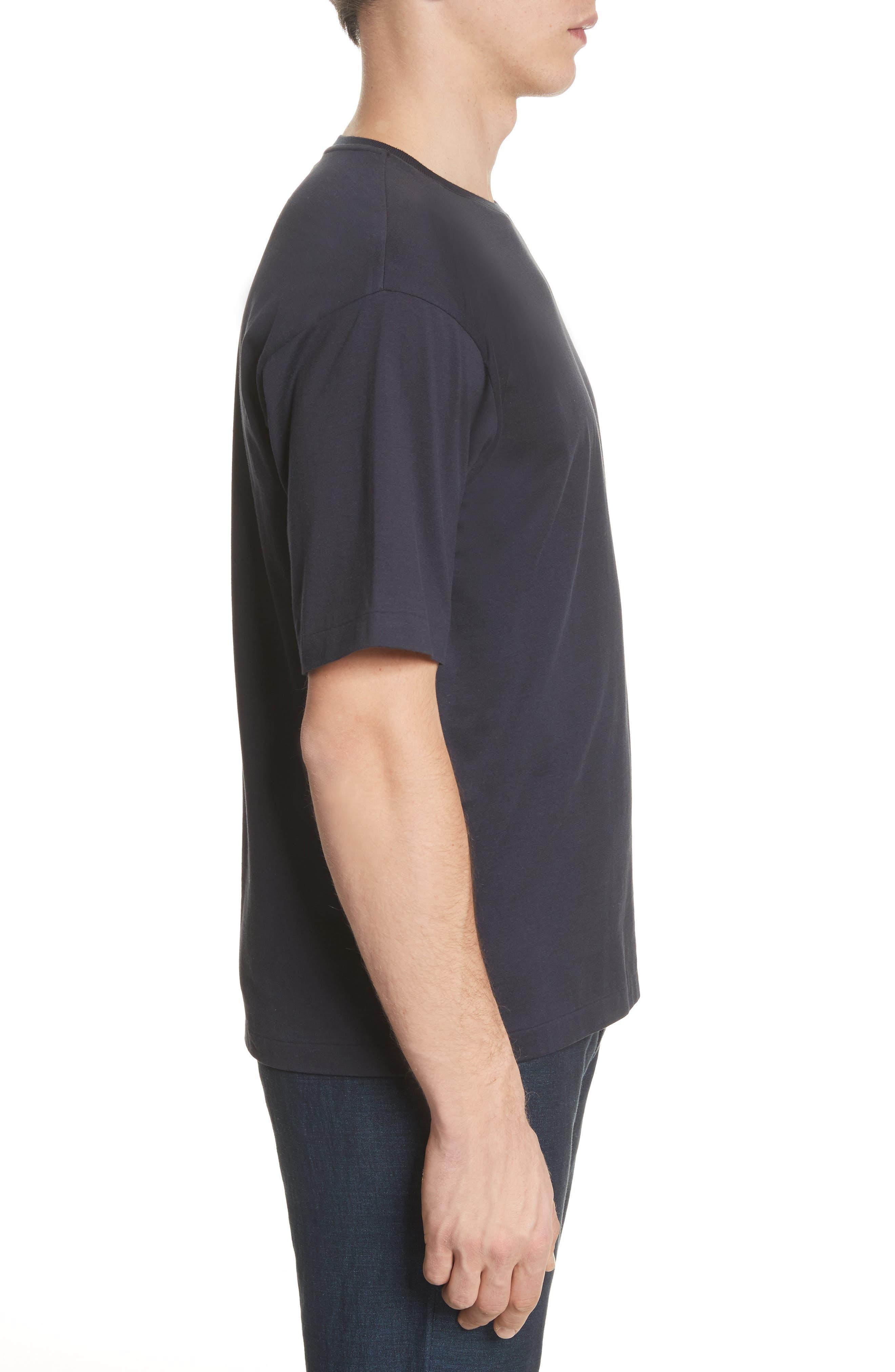 Jersey T-Shirt,                             Alternate thumbnail 3, color,                             Navy