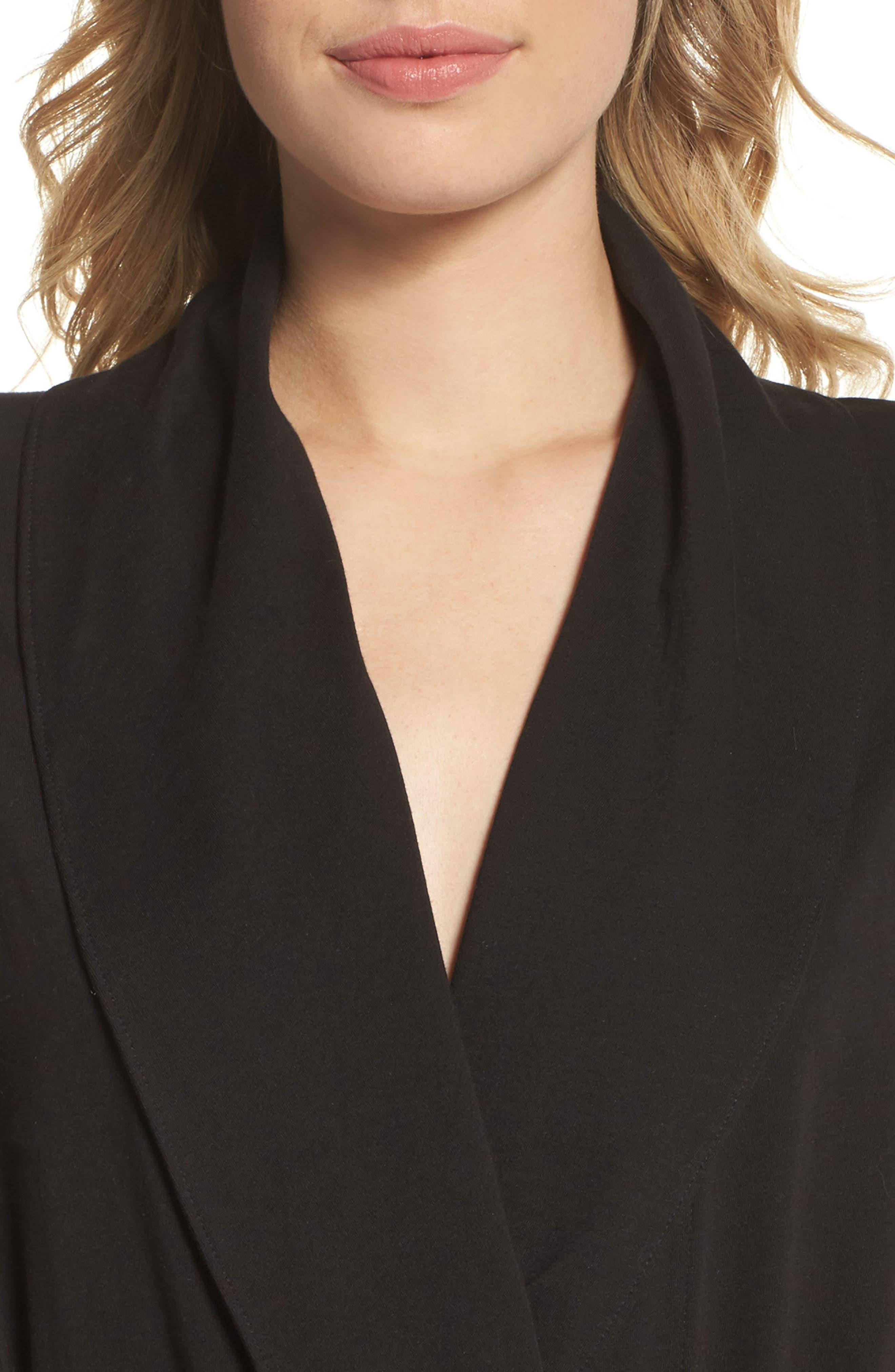 Alternate Image 5  - skin Paola Pima Cotton Robe