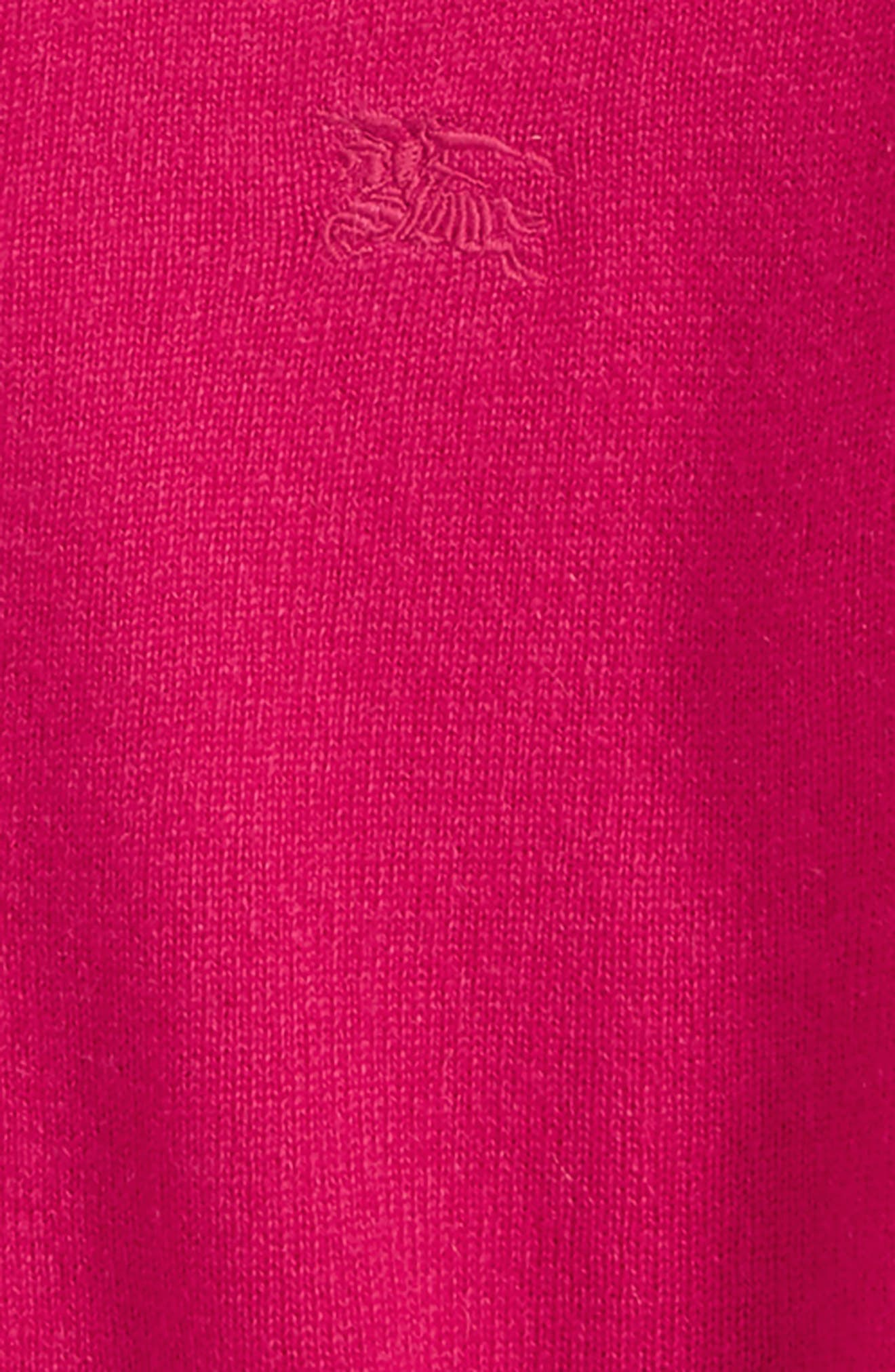 Gema Cashmere Cardigan,                             Alternate thumbnail 2, color,                             Bright Crimson Pink