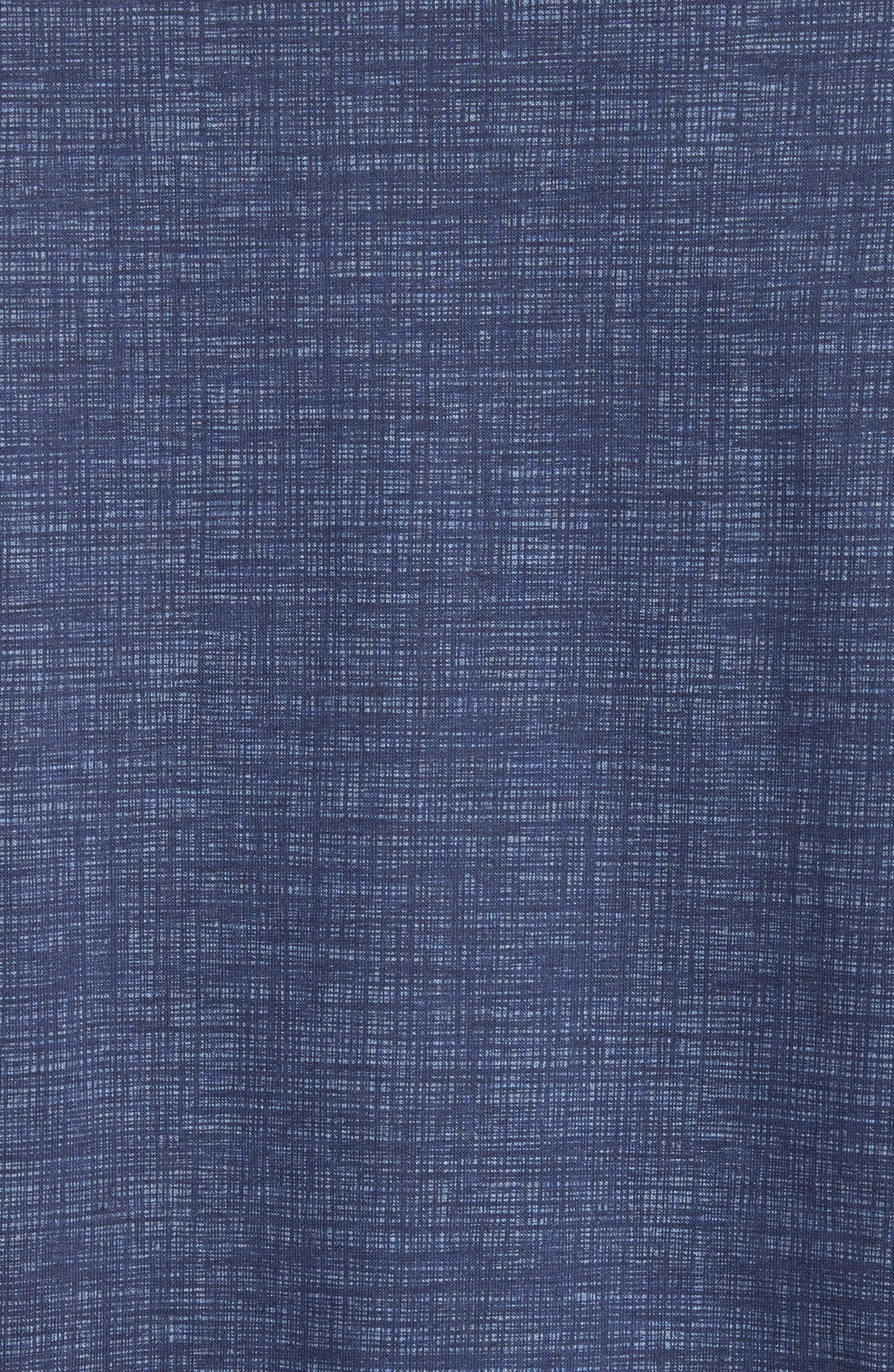 Cotton Polo Shirt,                             Alternate thumbnail 5, color,                             Navy
