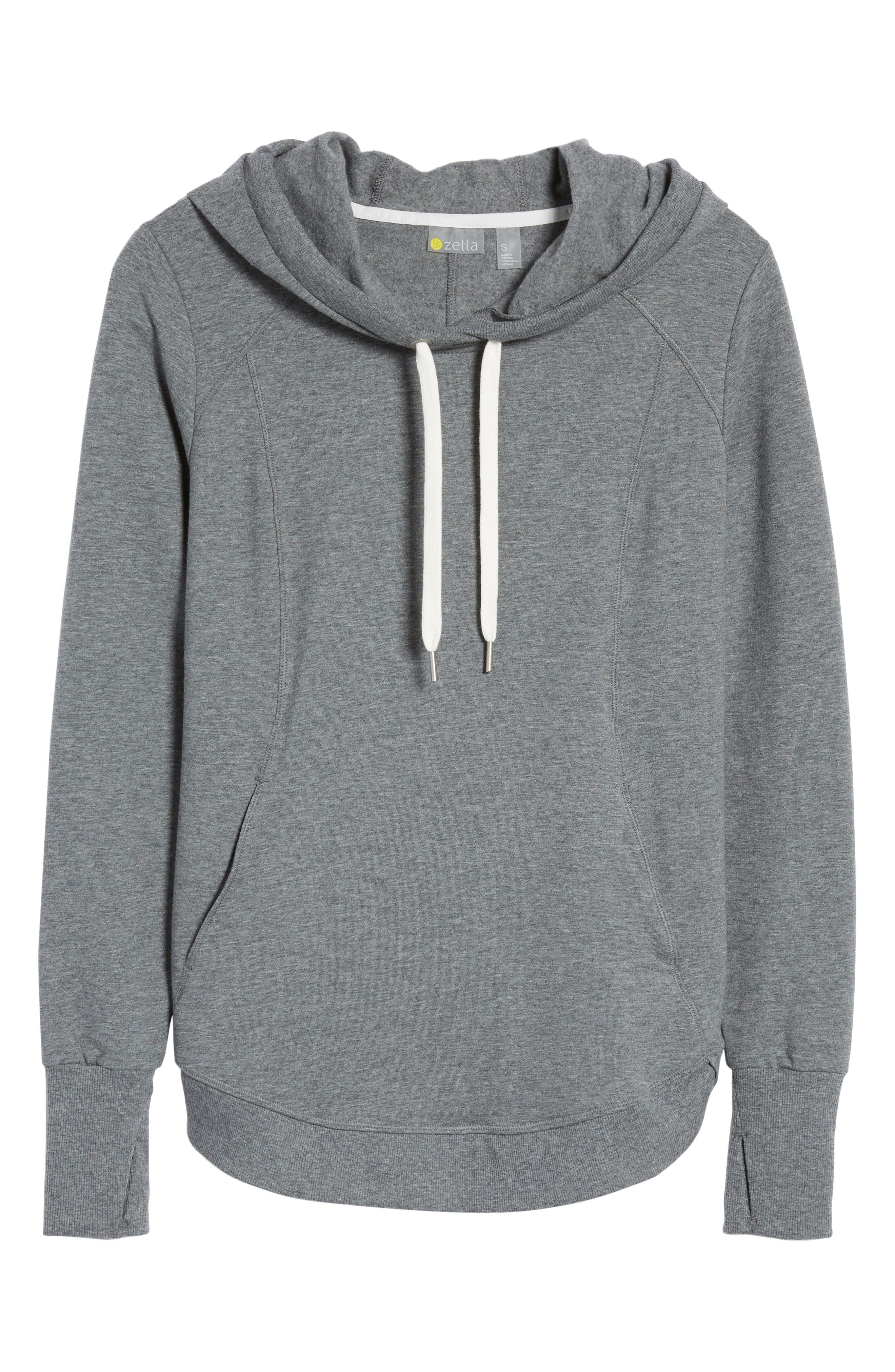 En Route Hoodie,                             Alternate thumbnail 7, color,                             Grey Dark Heather