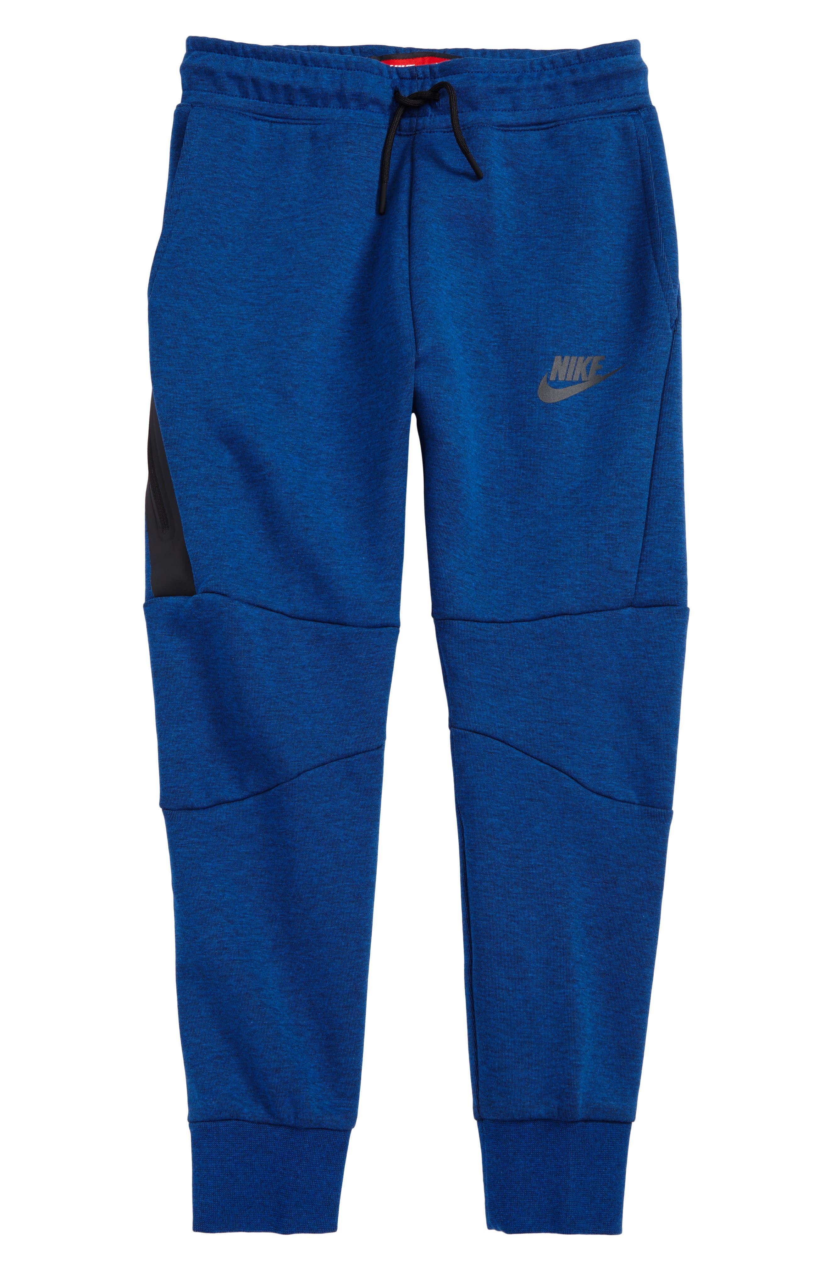 Tech Fleece Pants,                         Main,                         color, Gym Blue