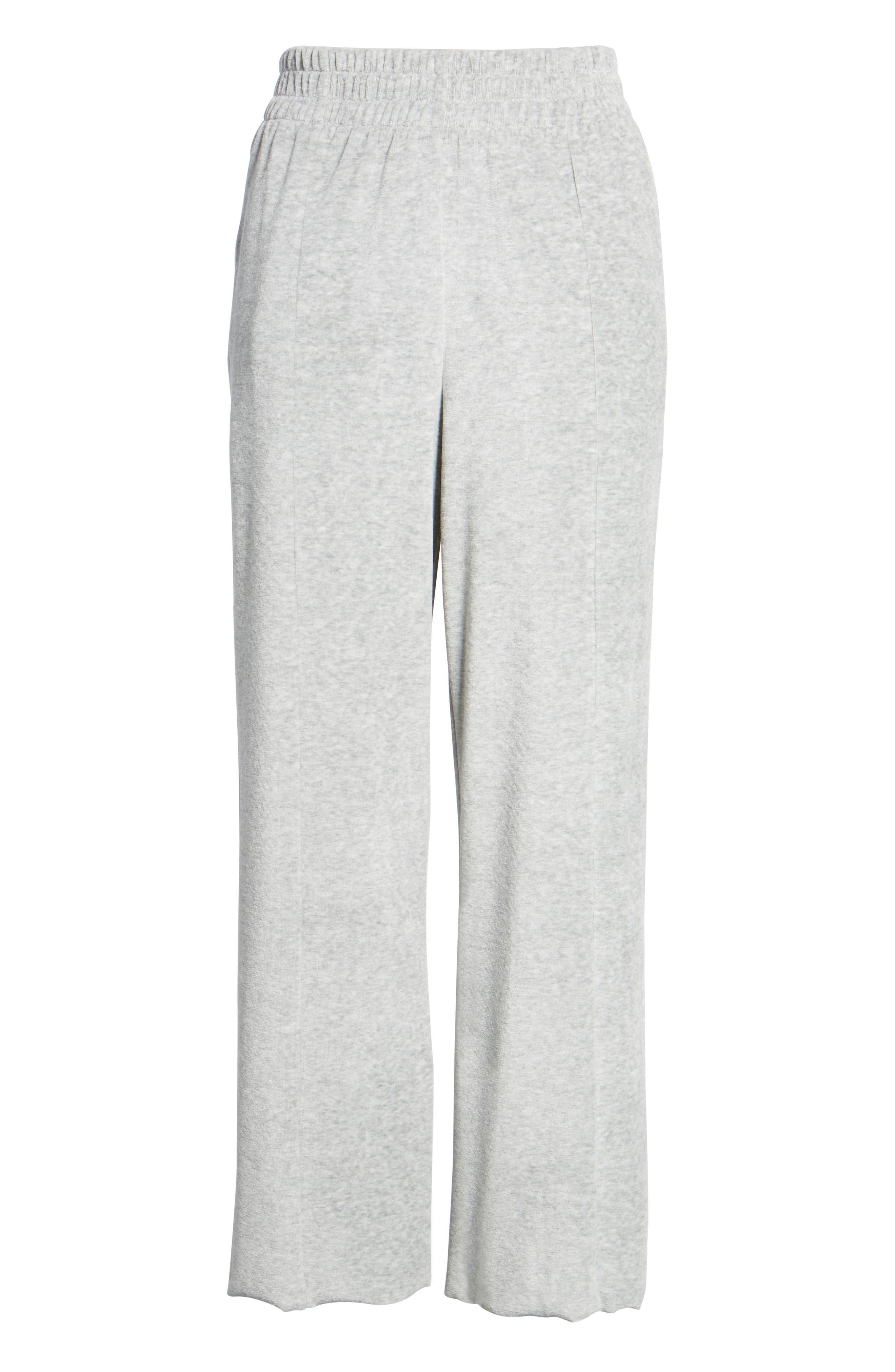 Alternate Image 6  - Good American Good Sweats The High Waist Sweatpants (Regular & Plus Size)