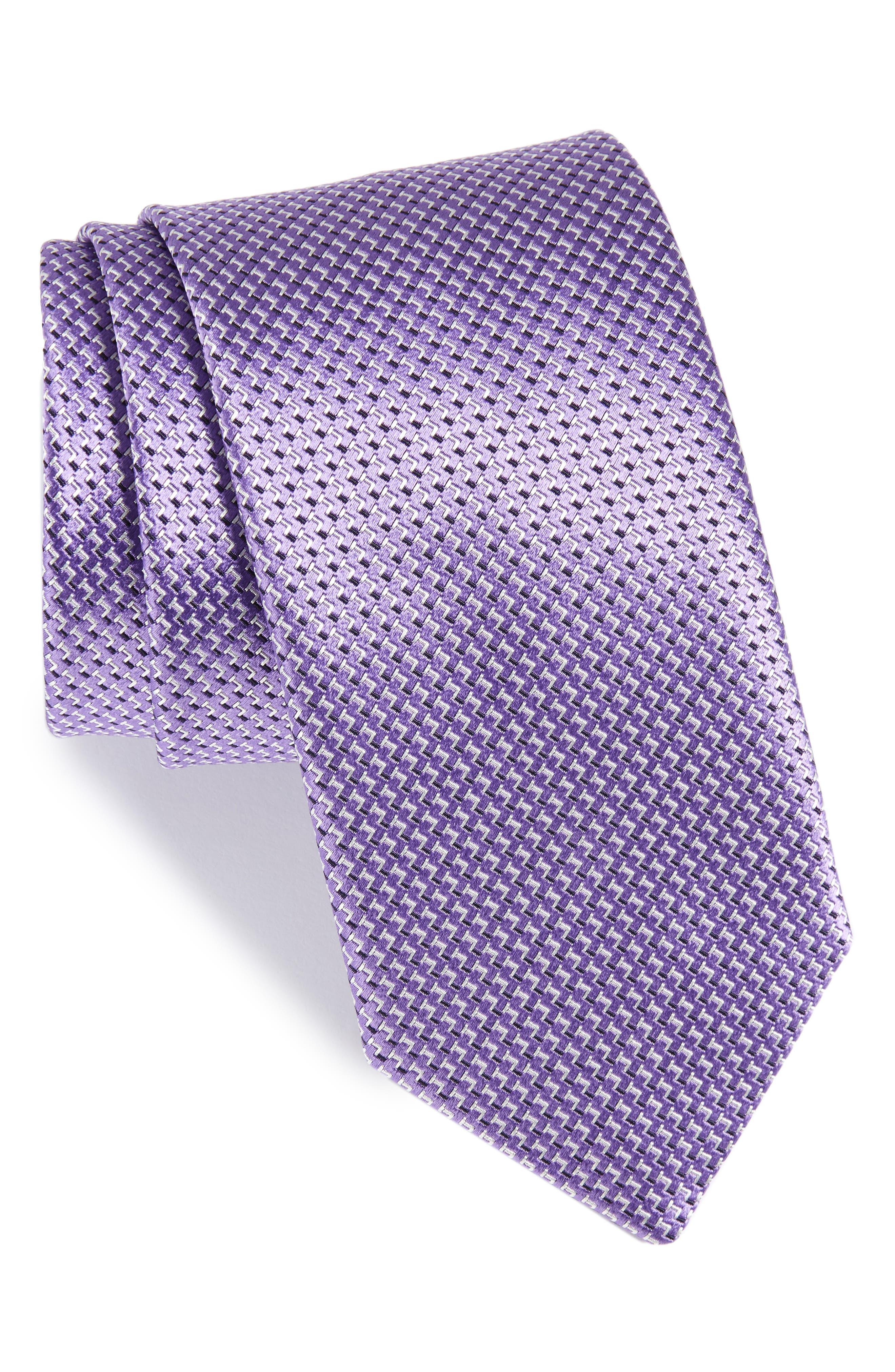 Main Image - Canali Solid Silk Tie