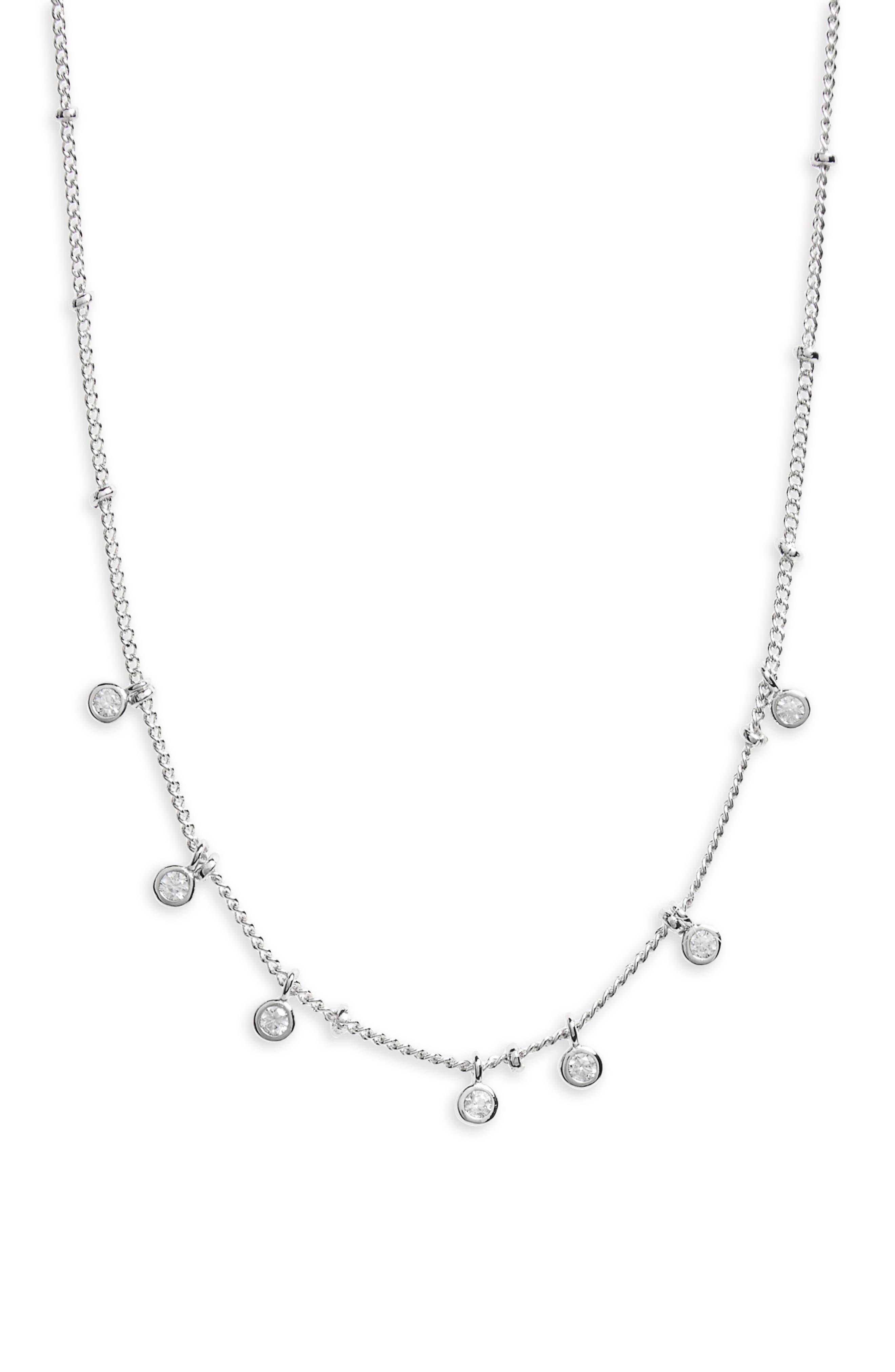 Main Image - Melanie Auld Floating Disc Collar Necklace