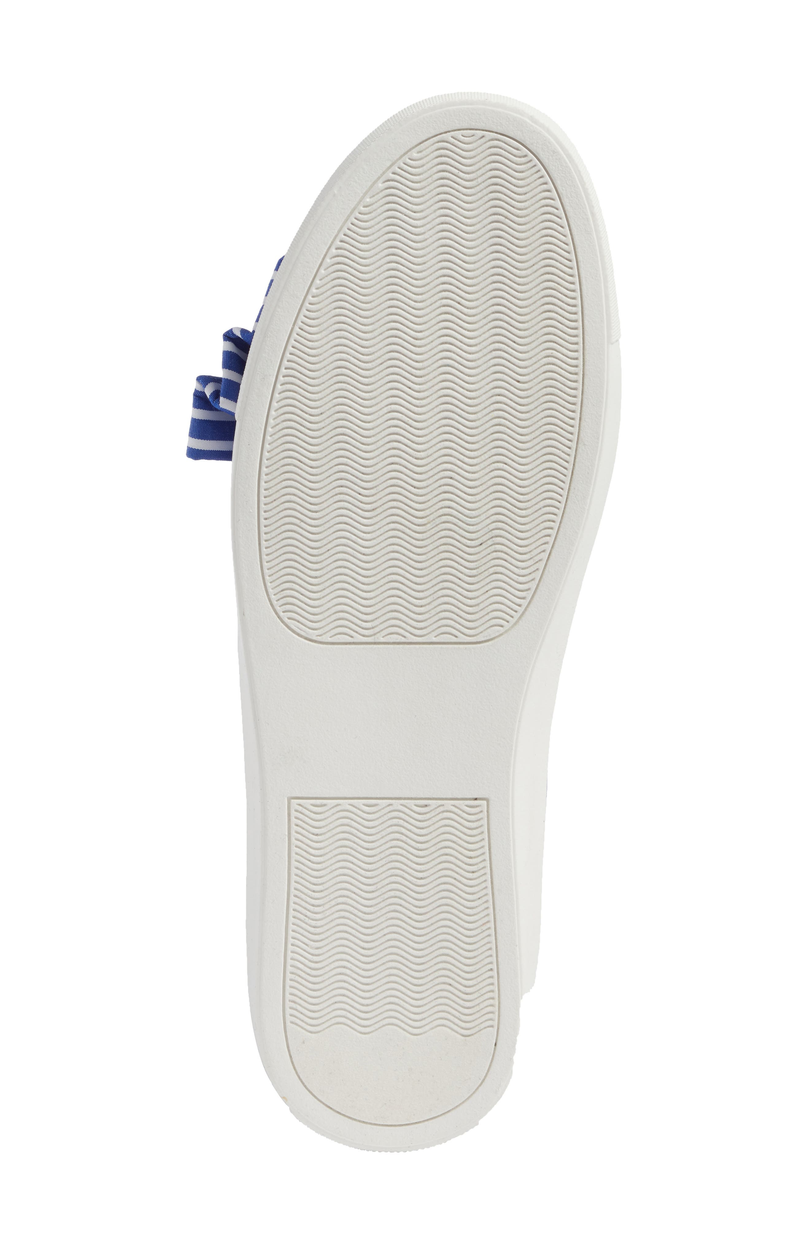 Mika Slip-On Sneaker,                             Alternate thumbnail 8, color,                             Blue Shirting Fabric