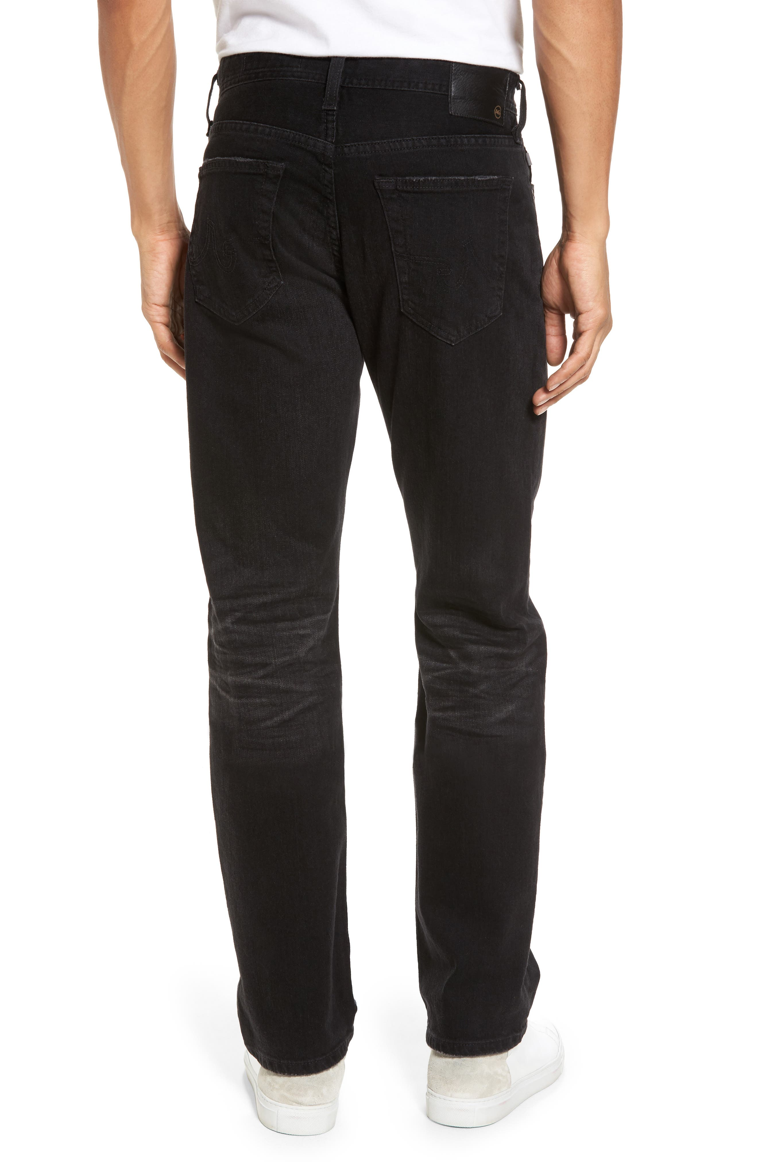 Graduate Slim Straight Fit Jeans,                             Alternate thumbnail 2, color,                             4 Years Down