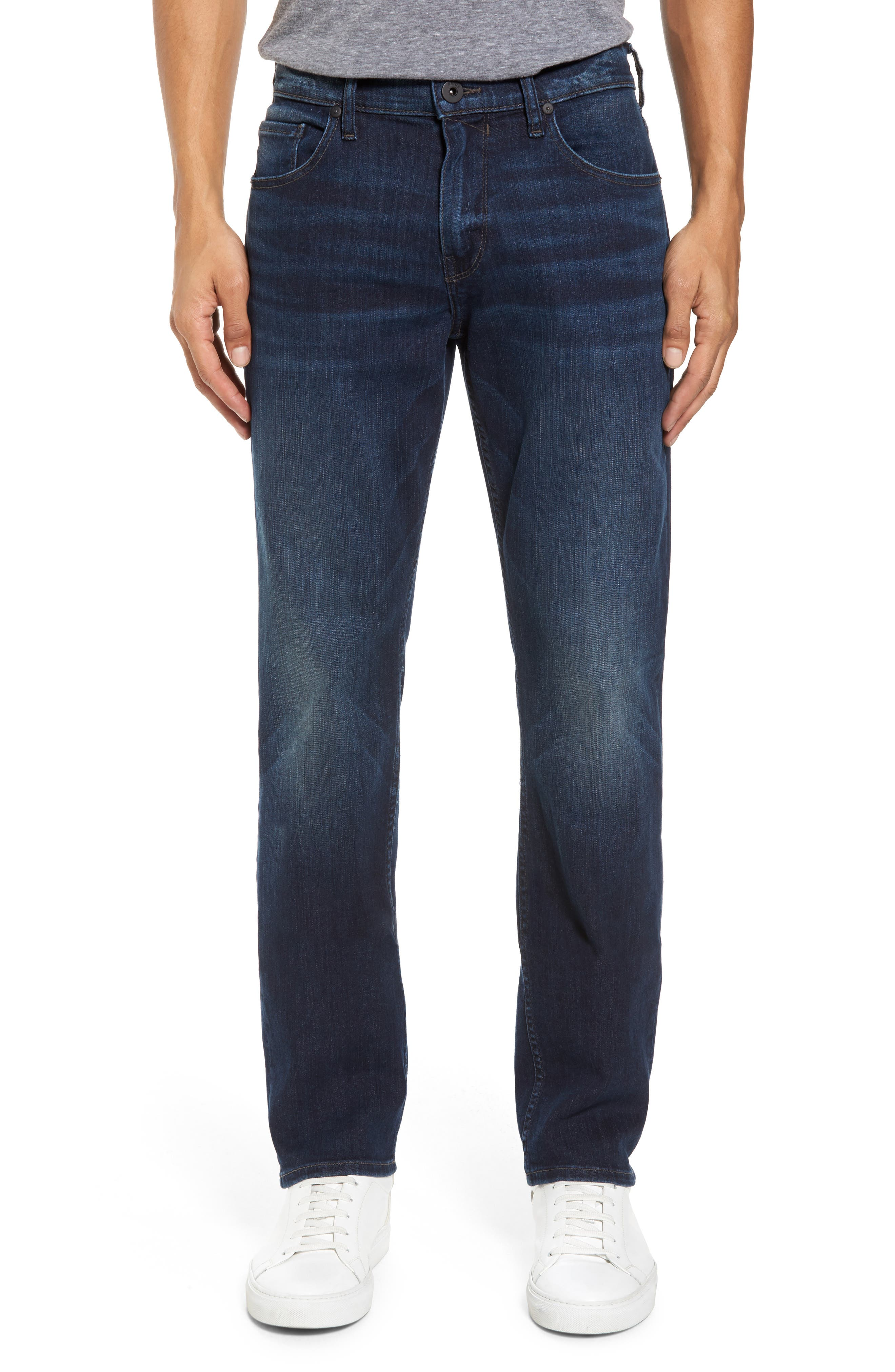 Transcend - Federal Slim Straight Leg Jeans,                         Main,                         color, Graham