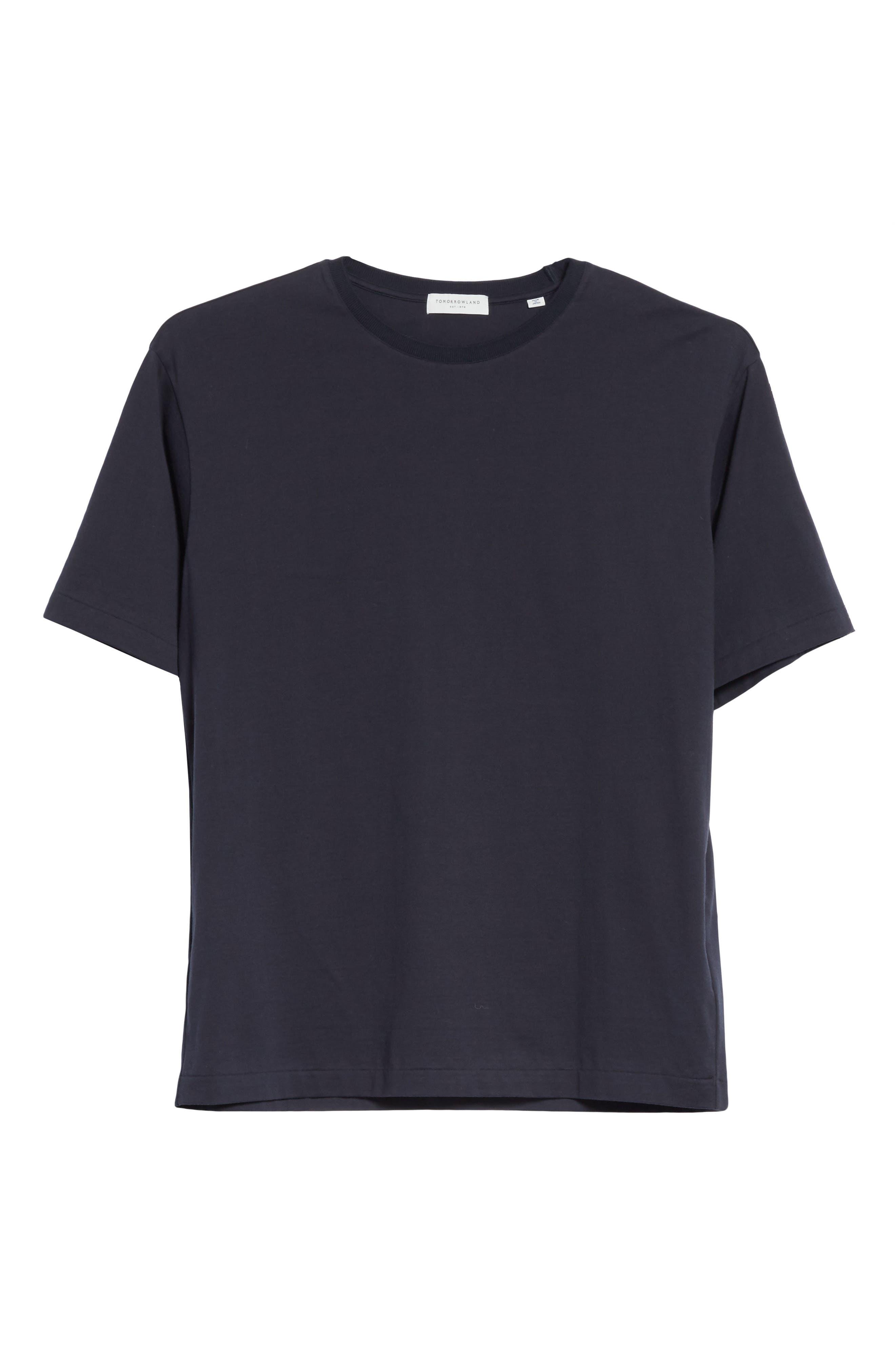 Jersey T-Shirt,                             Alternate thumbnail 6, color,                             Navy