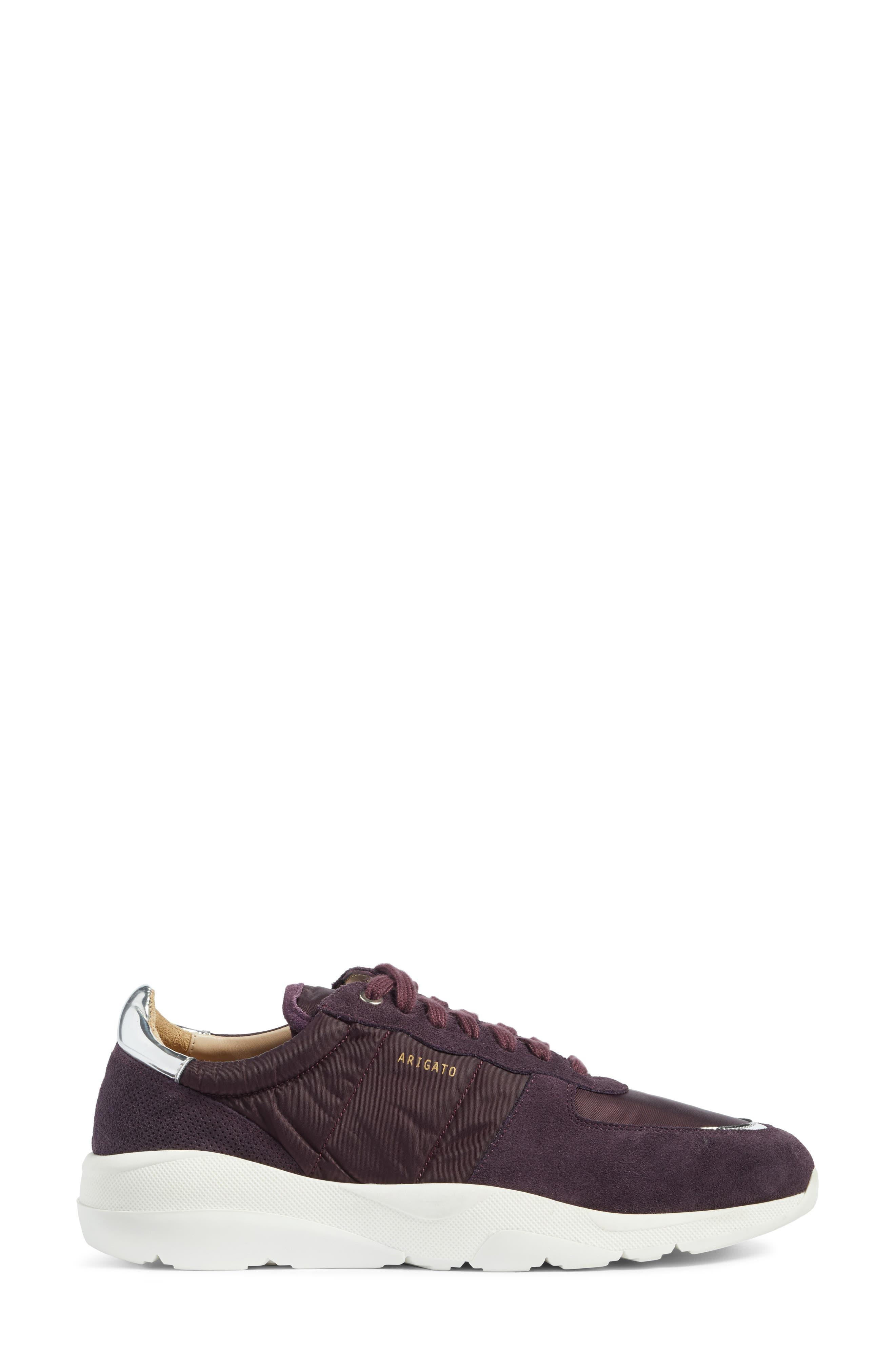 Geo Sneaker,                             Alternate thumbnail 3, color,                             Purple