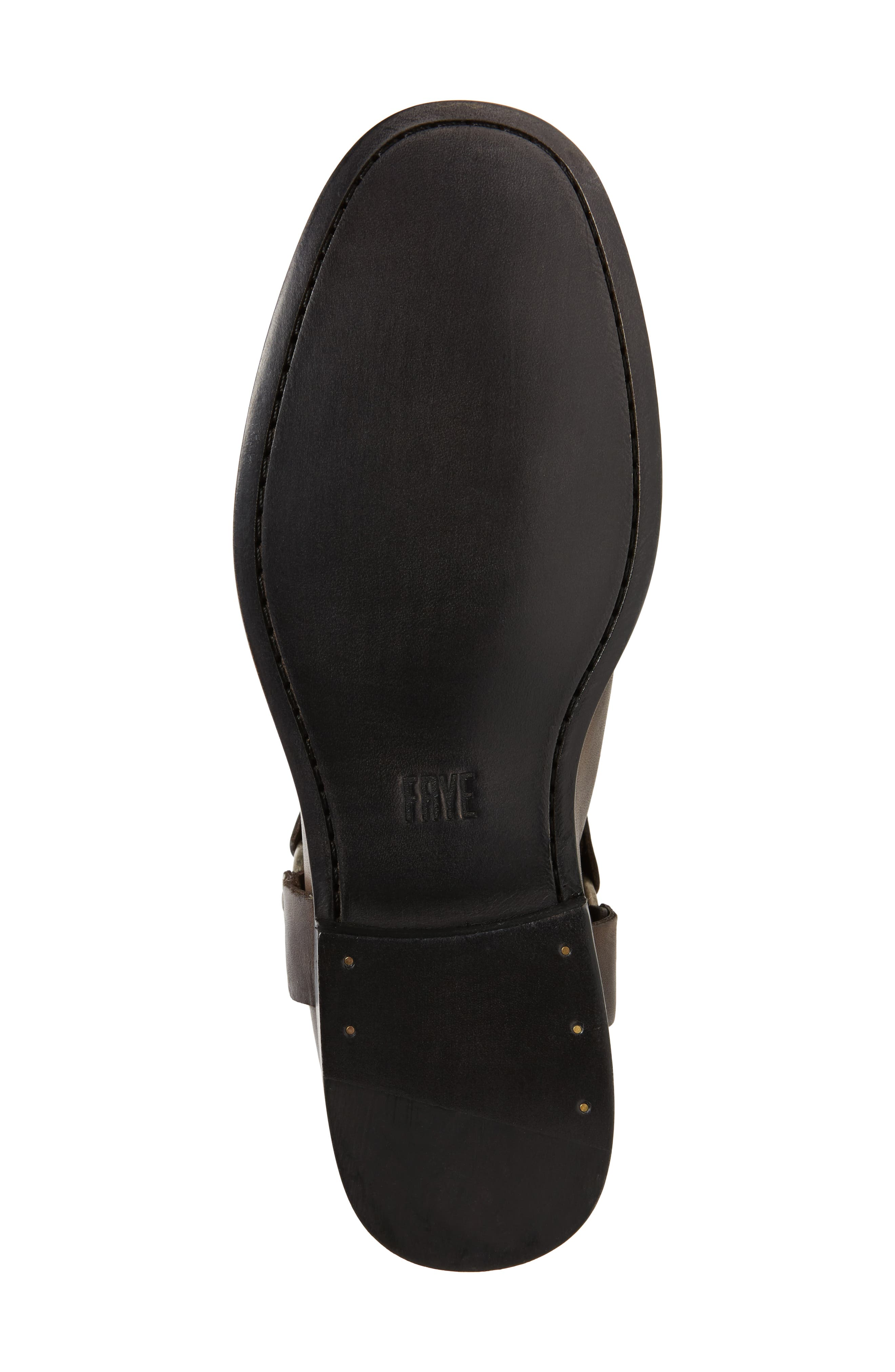 Phillip Harness Tall Boot,                             Alternate thumbnail 6, color,                             Smoke Leather