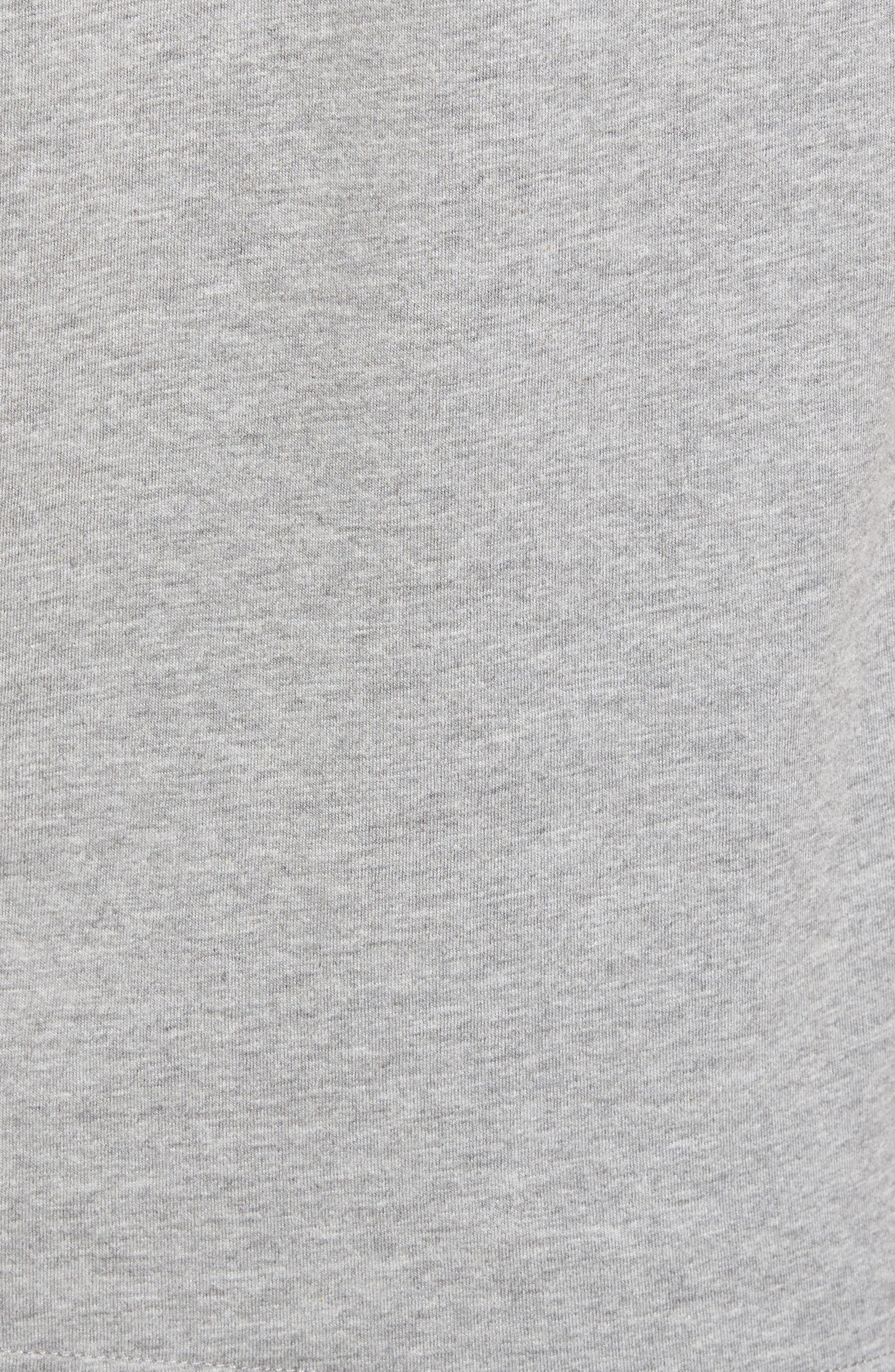 Morning Anchor Graphic T-Shirt,                             Alternate thumbnail 5, color,                             Grey Heather