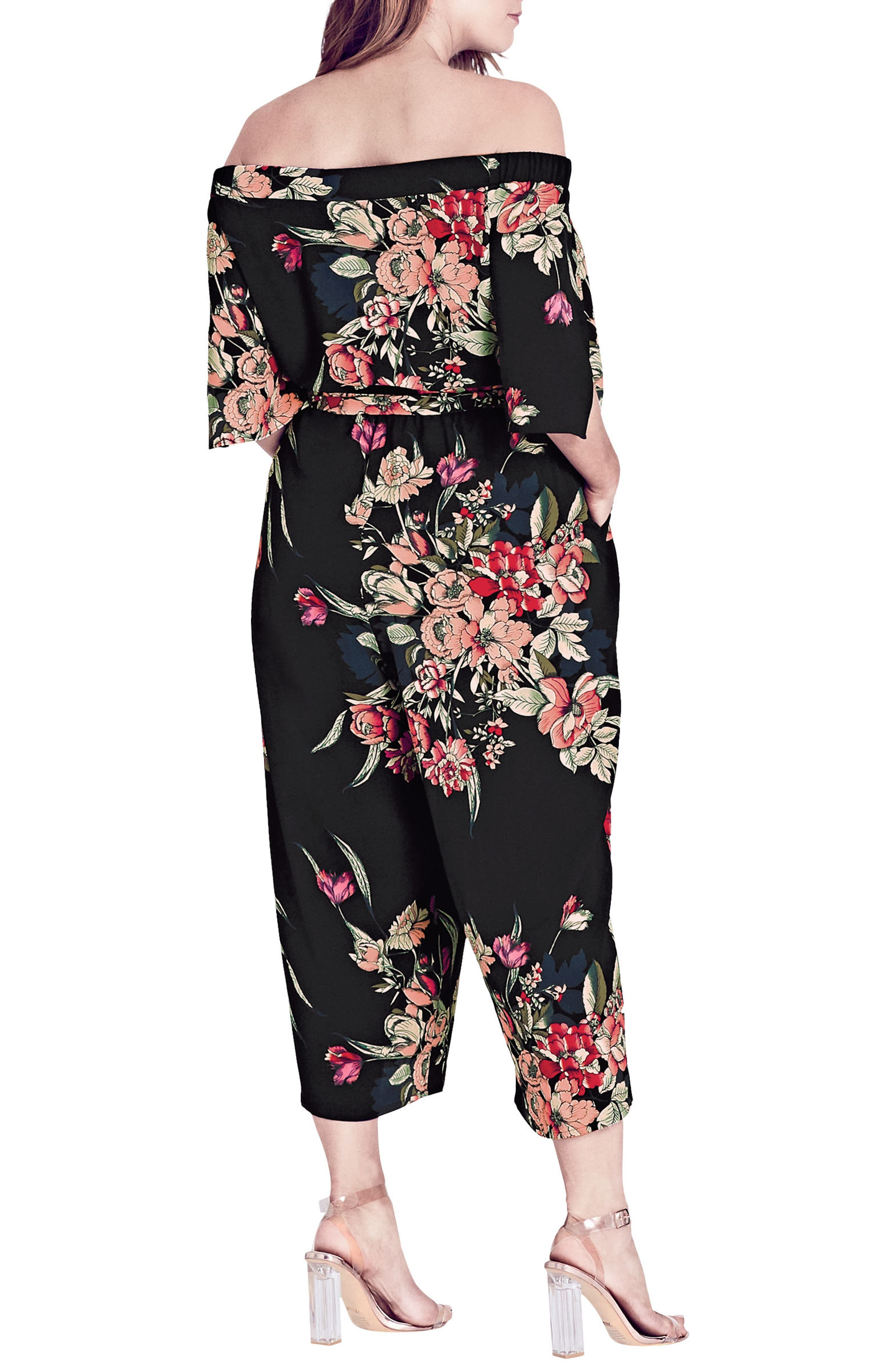 Misty Floral Jumpsuit,                             Alternate thumbnail 2, color,                             Misty Floral