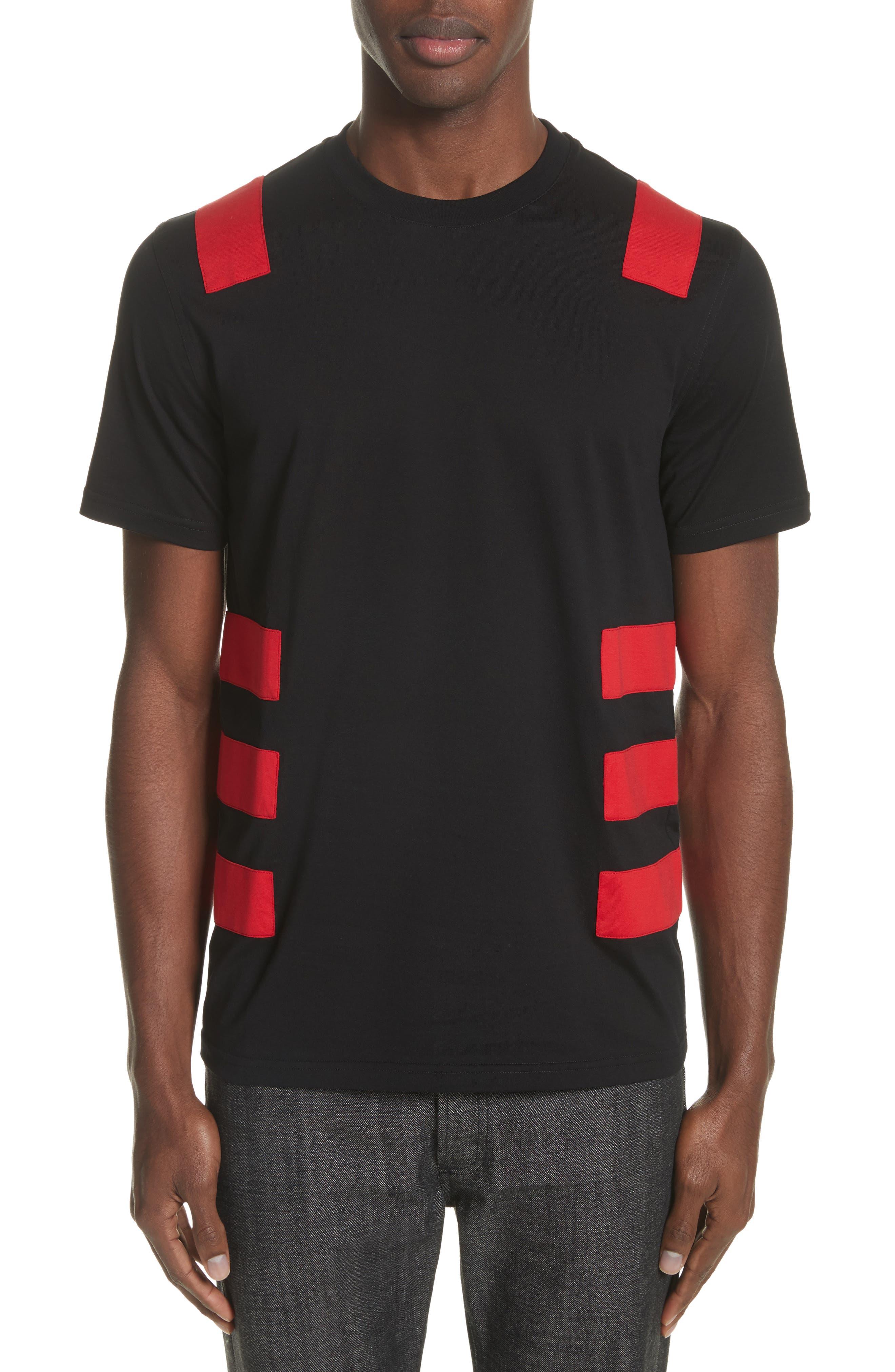 Band T-Shirt,                         Main,                         color, Black