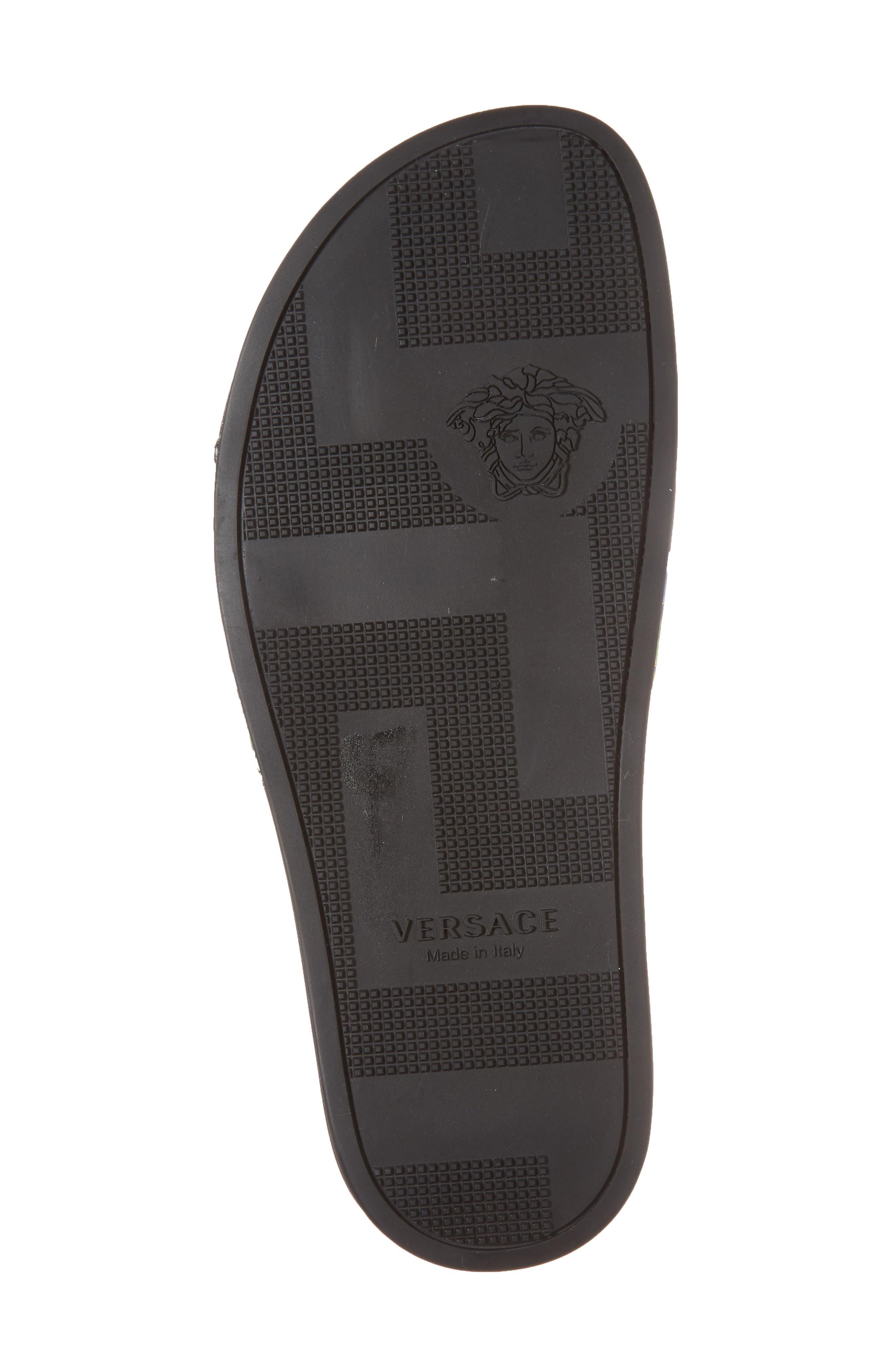 Alternate Image 6  - Versace First Line Miami Slide Sandal (Men)