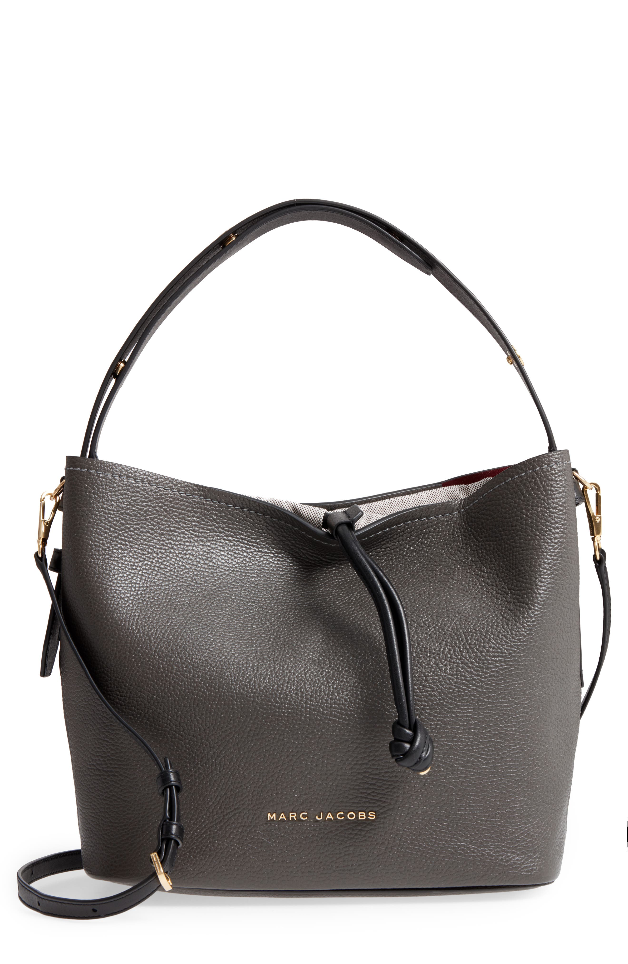 Alternate Image 1 Selected - MARC JACOBS Road Leather Hobo