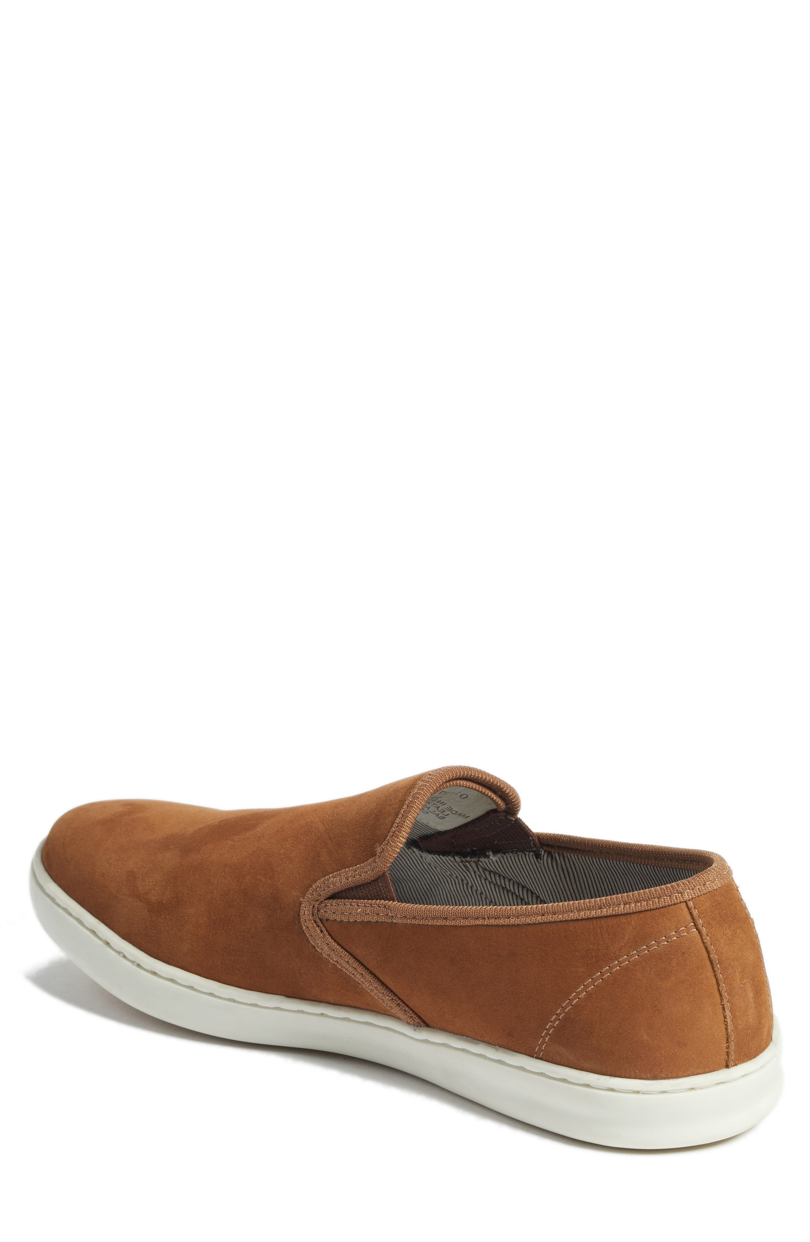 Malibu Slip-on,                             Alternate thumbnail 2, color,                             Tan Nubuck