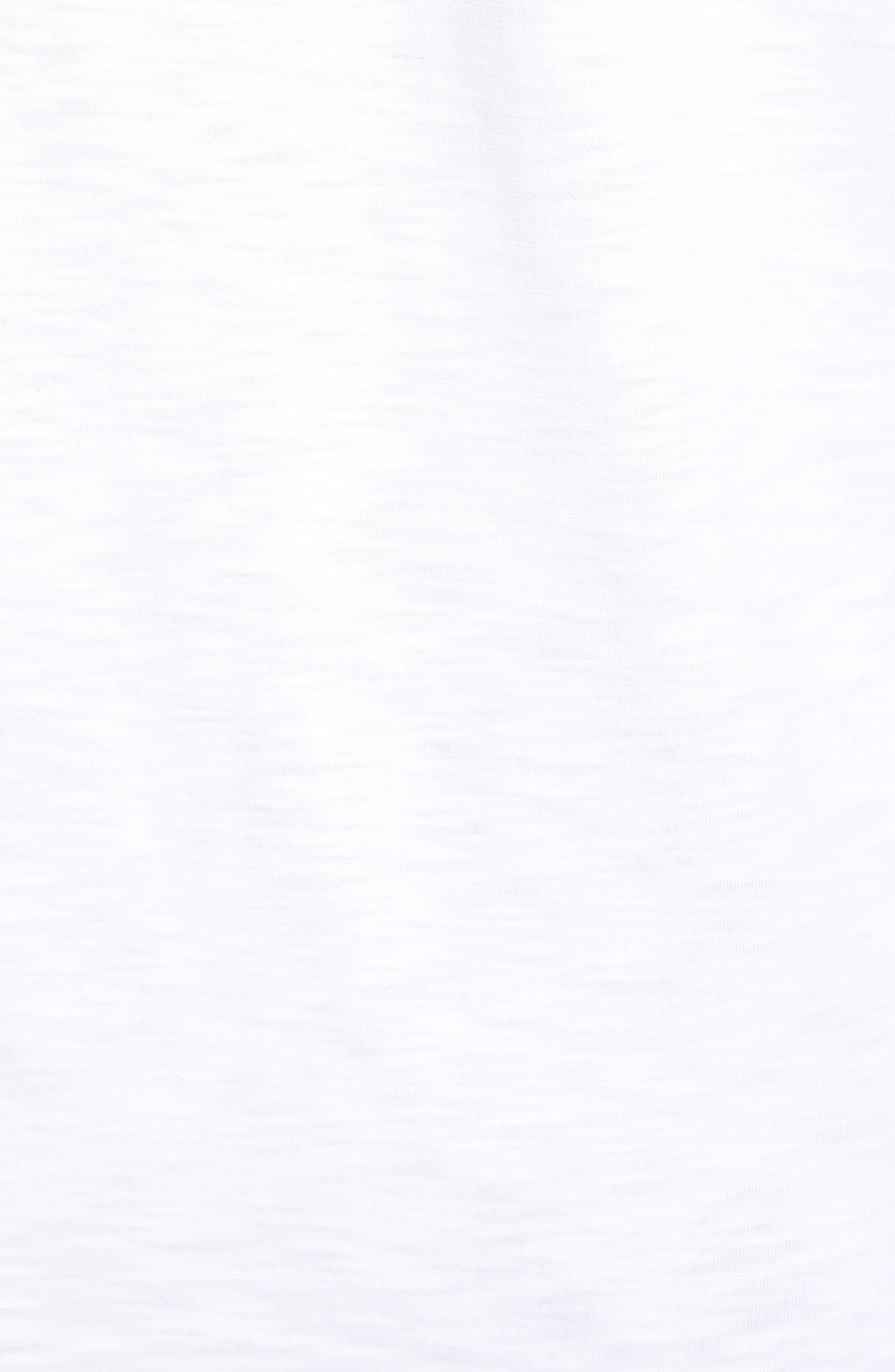 Palmae Beach Lux T-Shirt,                             Alternate thumbnail 5, color,                             White