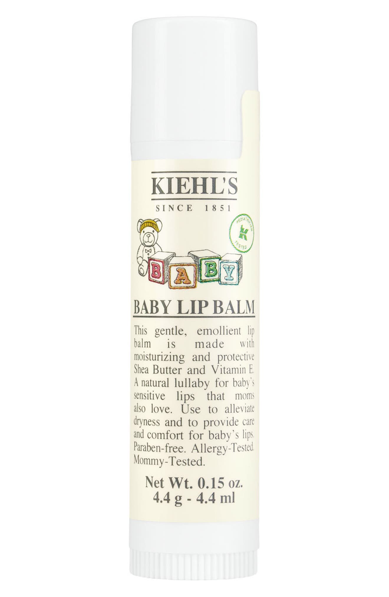 Baby Lip Balm,                             Main thumbnail 1, color,                             No Color