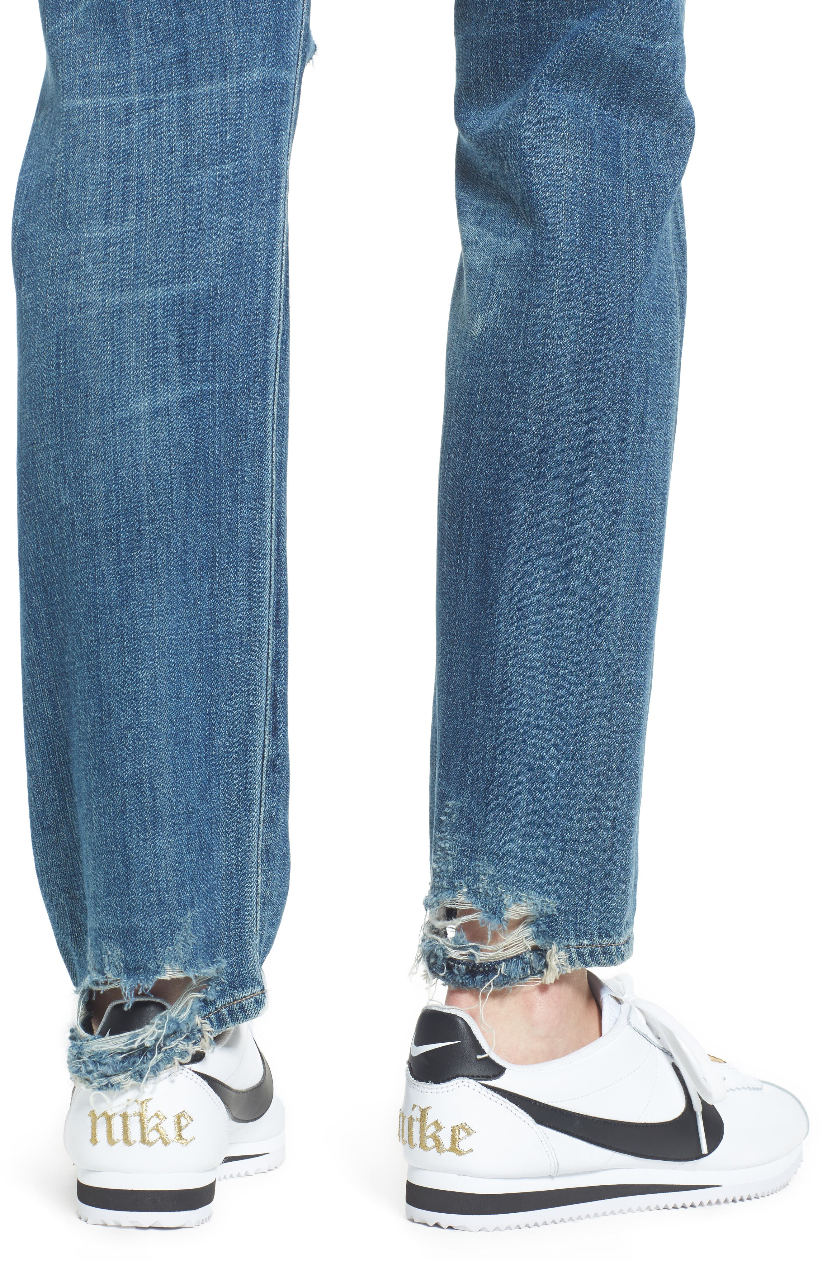 Corey Slouchy Slim Jeans,                             Alternate thumbnail 4, color,                             Manteca