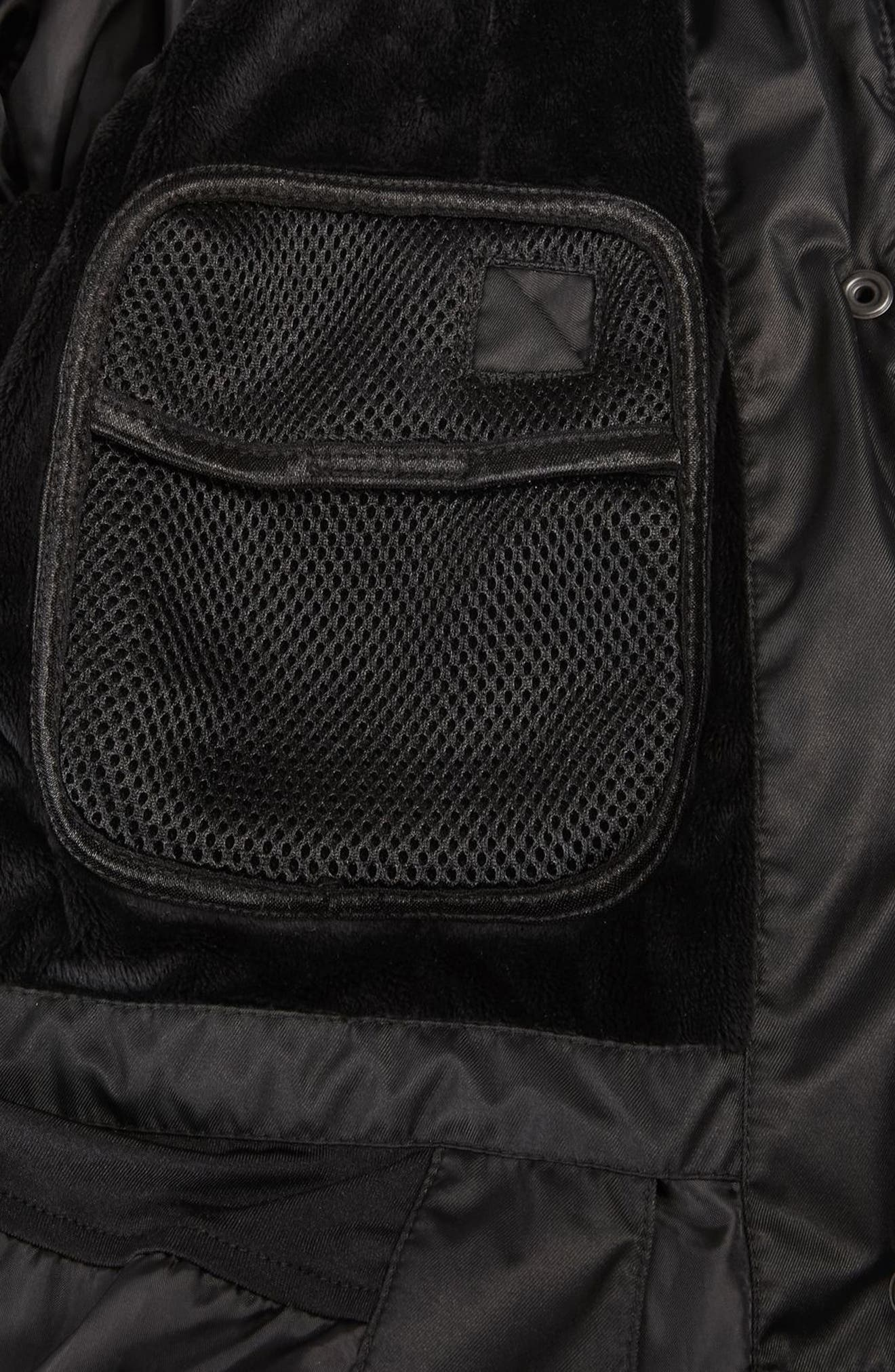 SNO Amazon Puffer Jacket,                             Alternate thumbnail 6, color,                             Black