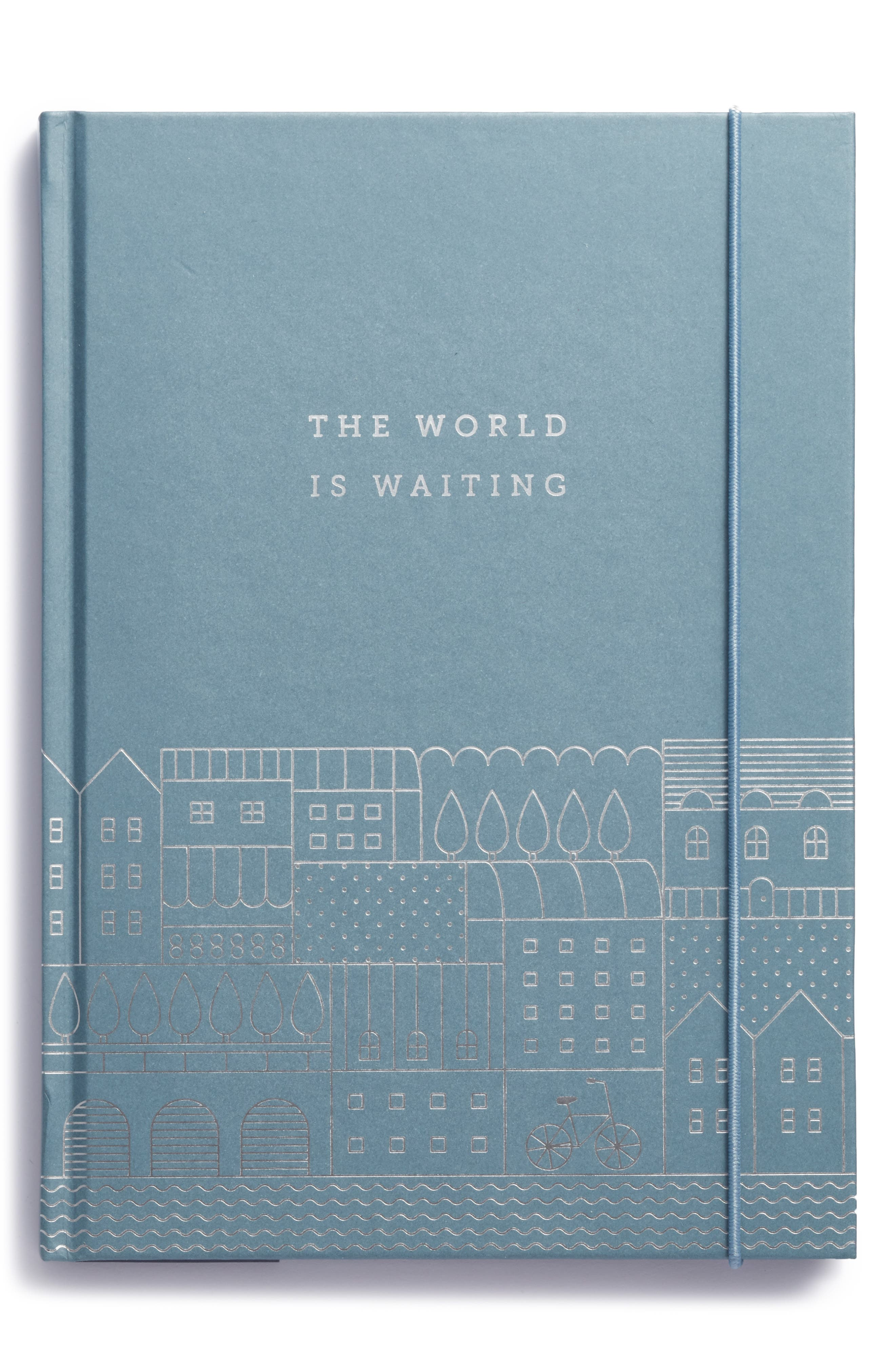 Hardcover Travel Journal,                         Main,                         color, Blue