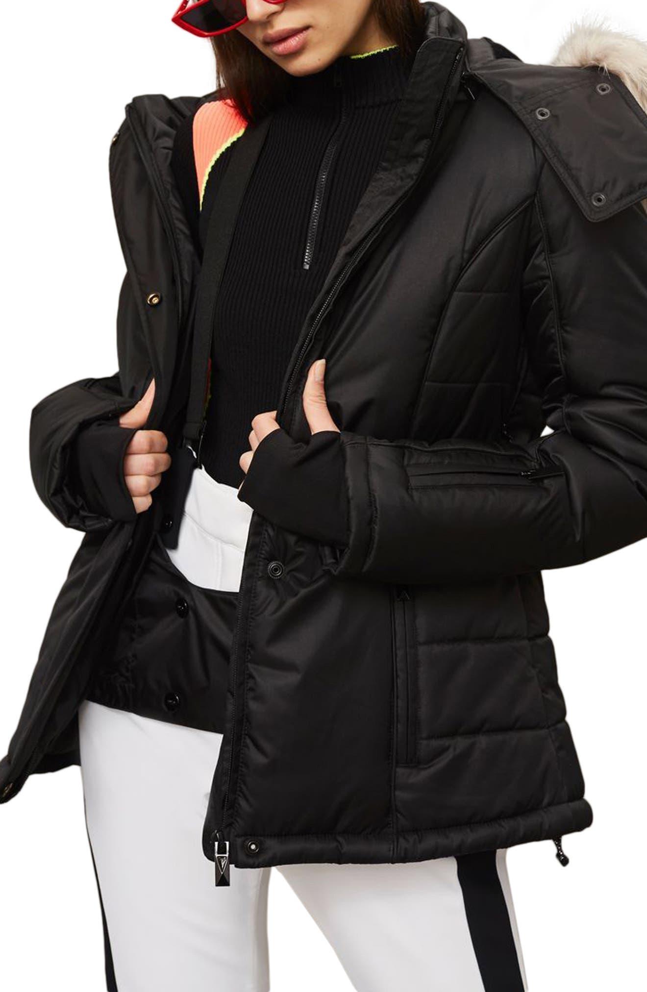 SNO Amazon Puffer Jacket,                             Main thumbnail 1, color,                             Black
