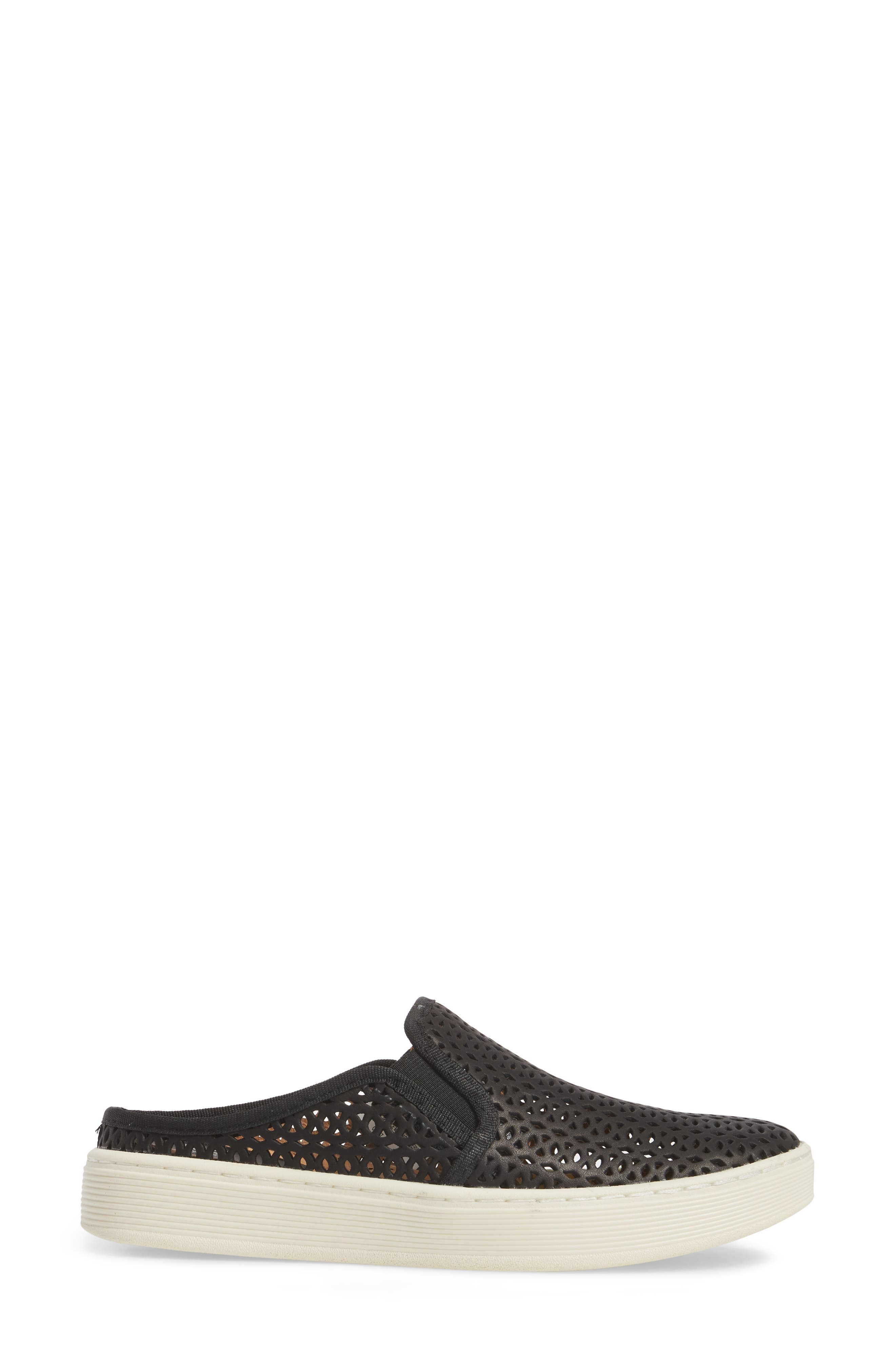 Somers II Sneaker,                             Alternate thumbnail 3, color,                             Black Leather