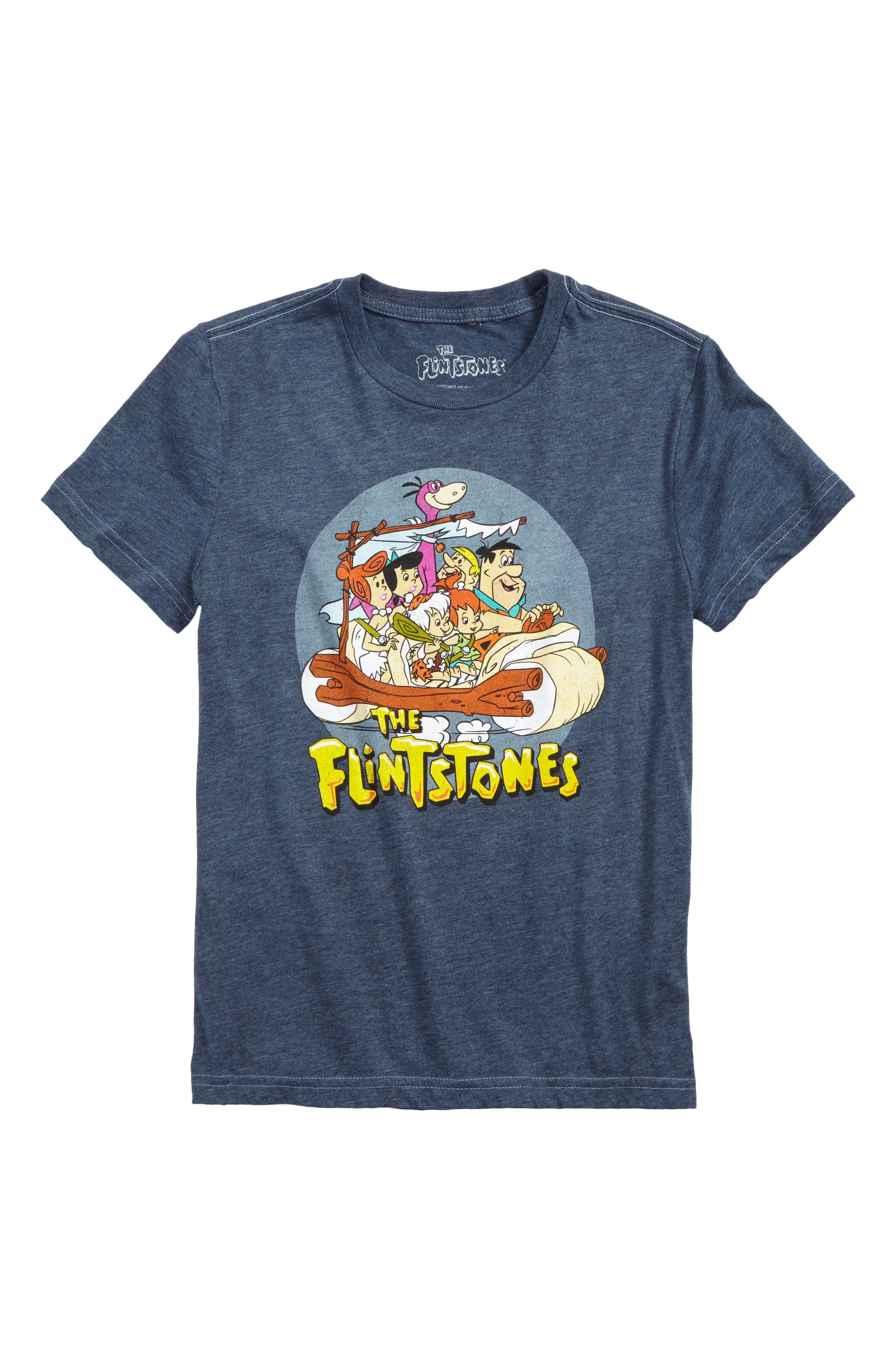 Main Image - Jem Flintstones Family Graphic T-Shirt (Big Boys)
