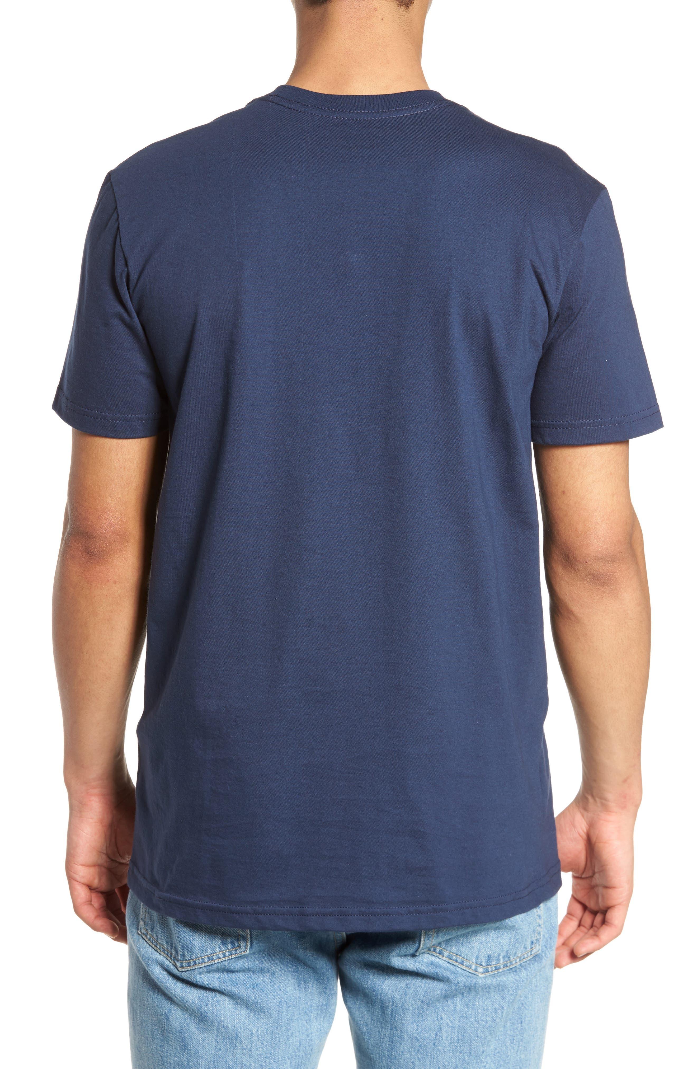 Glitch Motors T-Shirt,                             Alternate thumbnail 2, color,                             Federal Blue