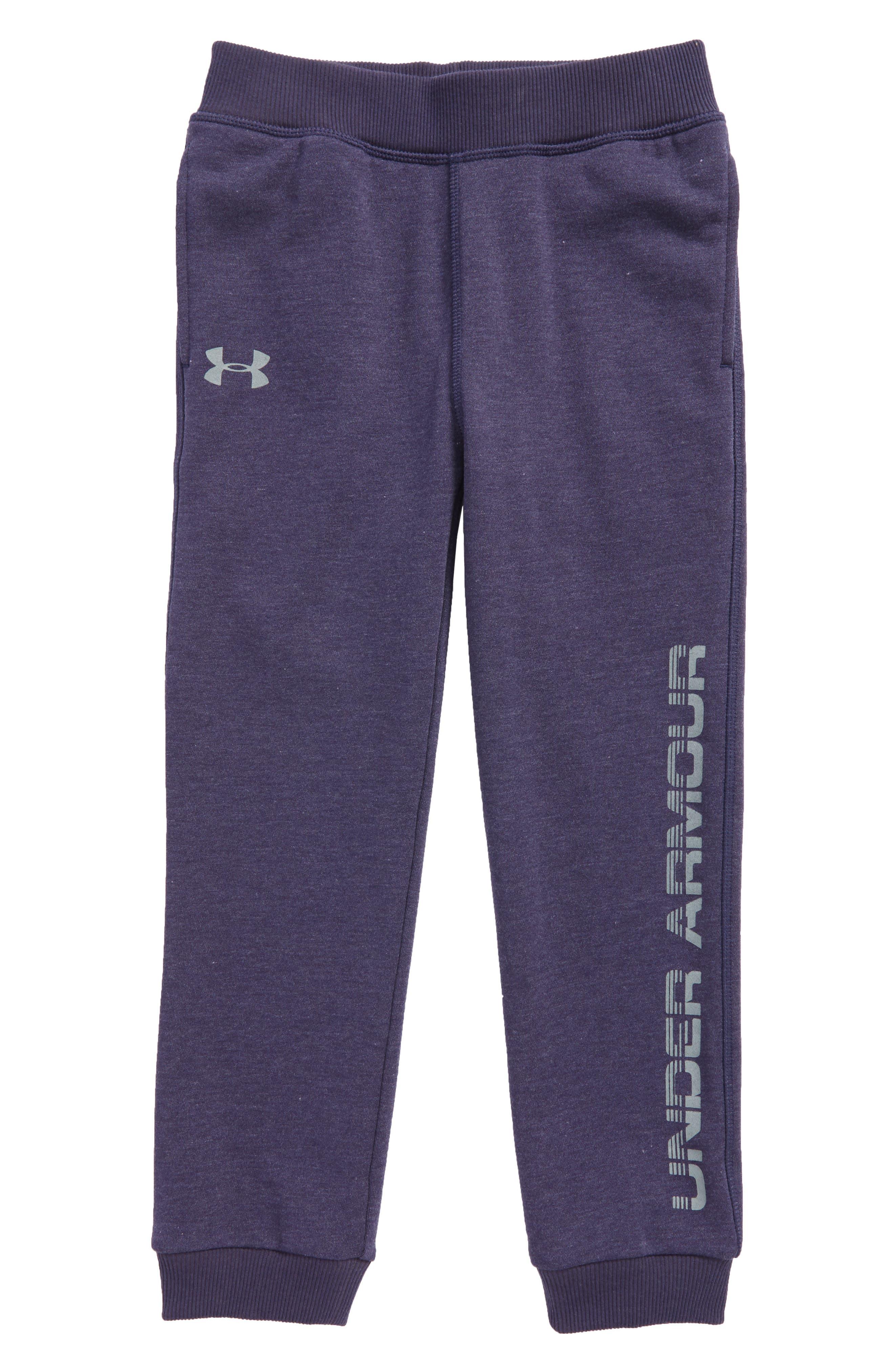 Threadborne Logo Graphic Sweatpants,                         Main,                         color, Midnight Navy
