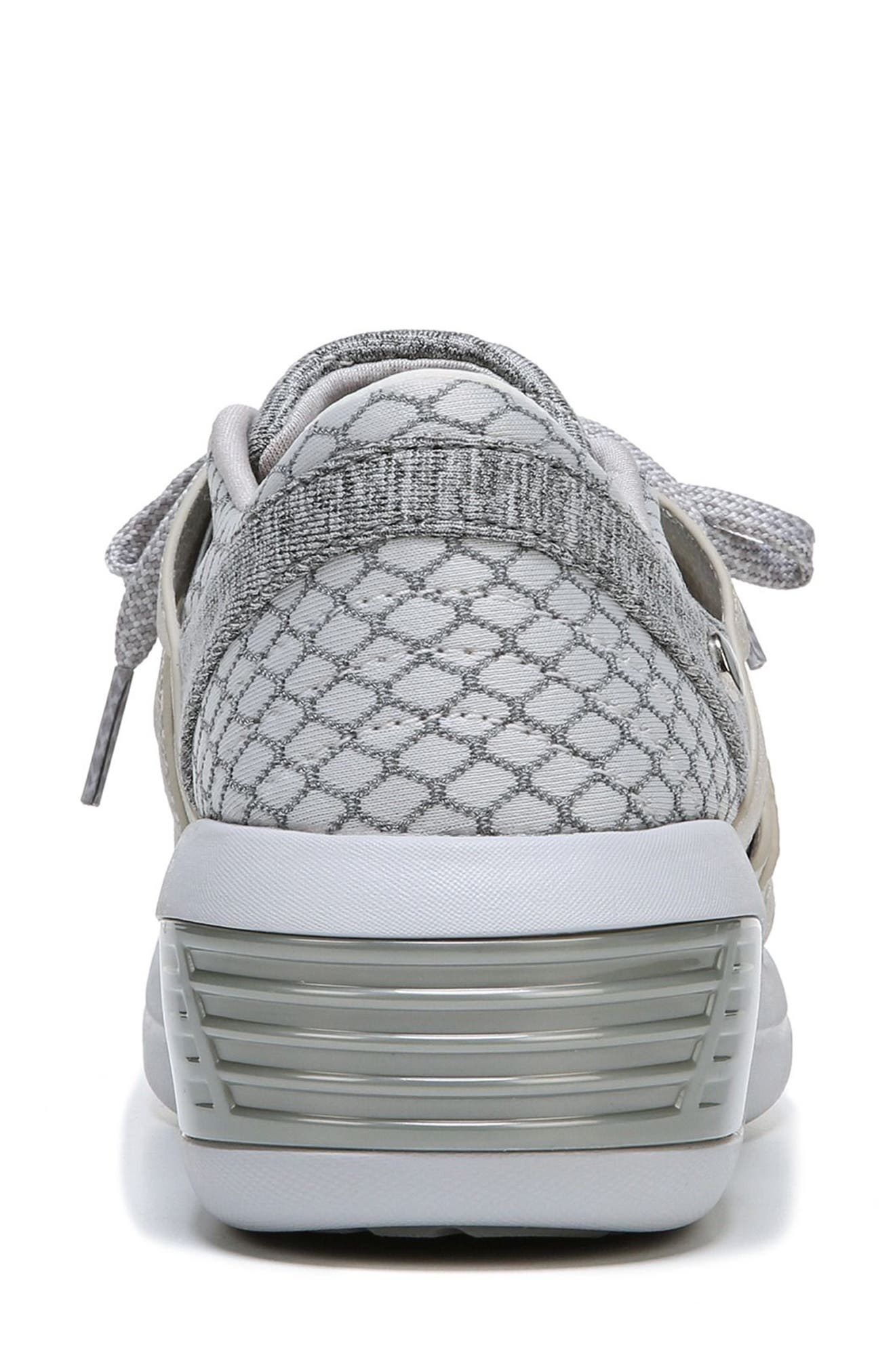 Flicker Sneaker,                             Alternate thumbnail 6, color,                             Grey Fabric