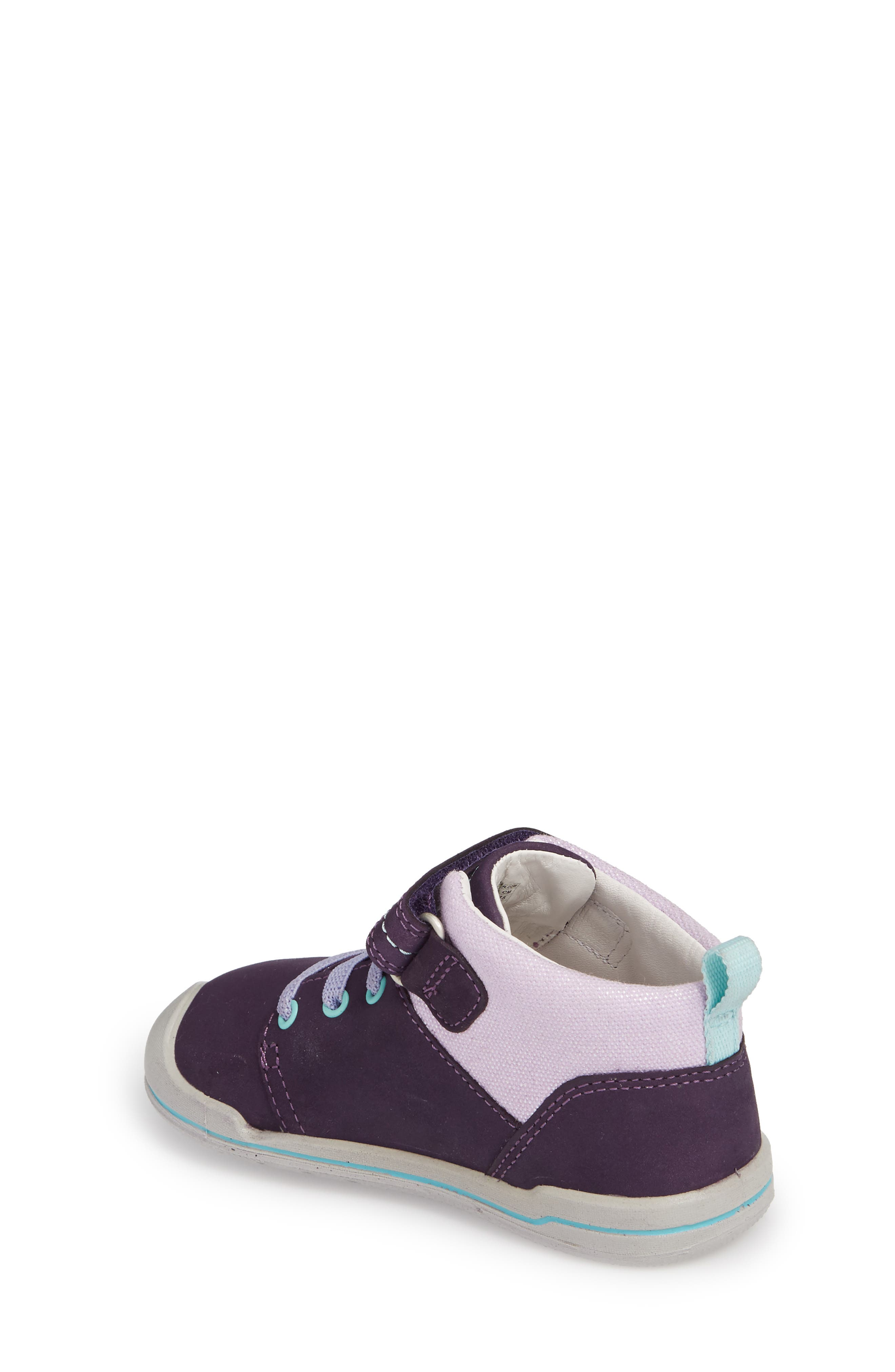 Sprout Mid Sneaker,                             Alternate thumbnail 2, color,                             Purple / Sweet Lavender