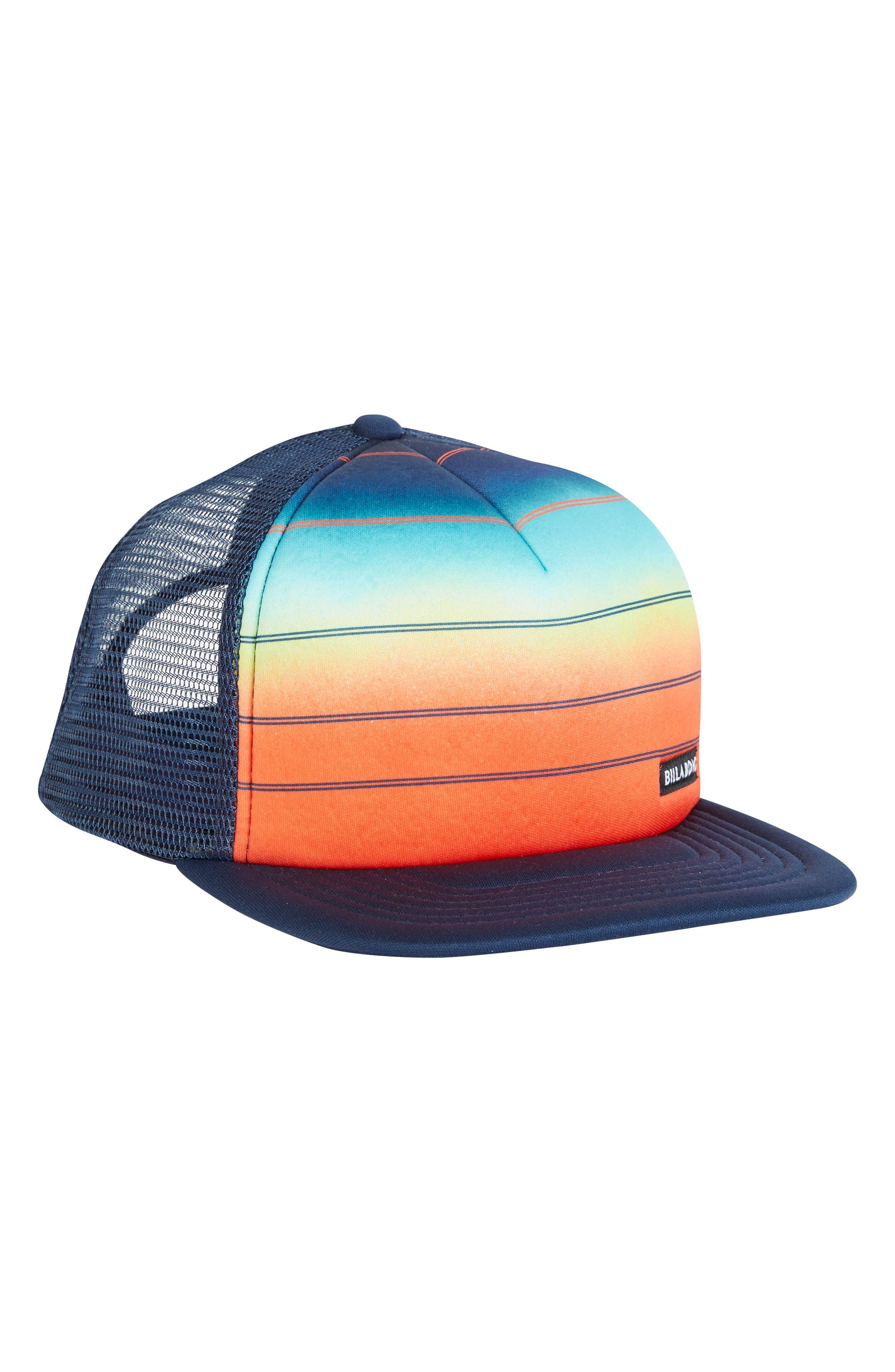 73 Snapback Trucker Hat,                             Alternate thumbnail 4, color,                             Orange