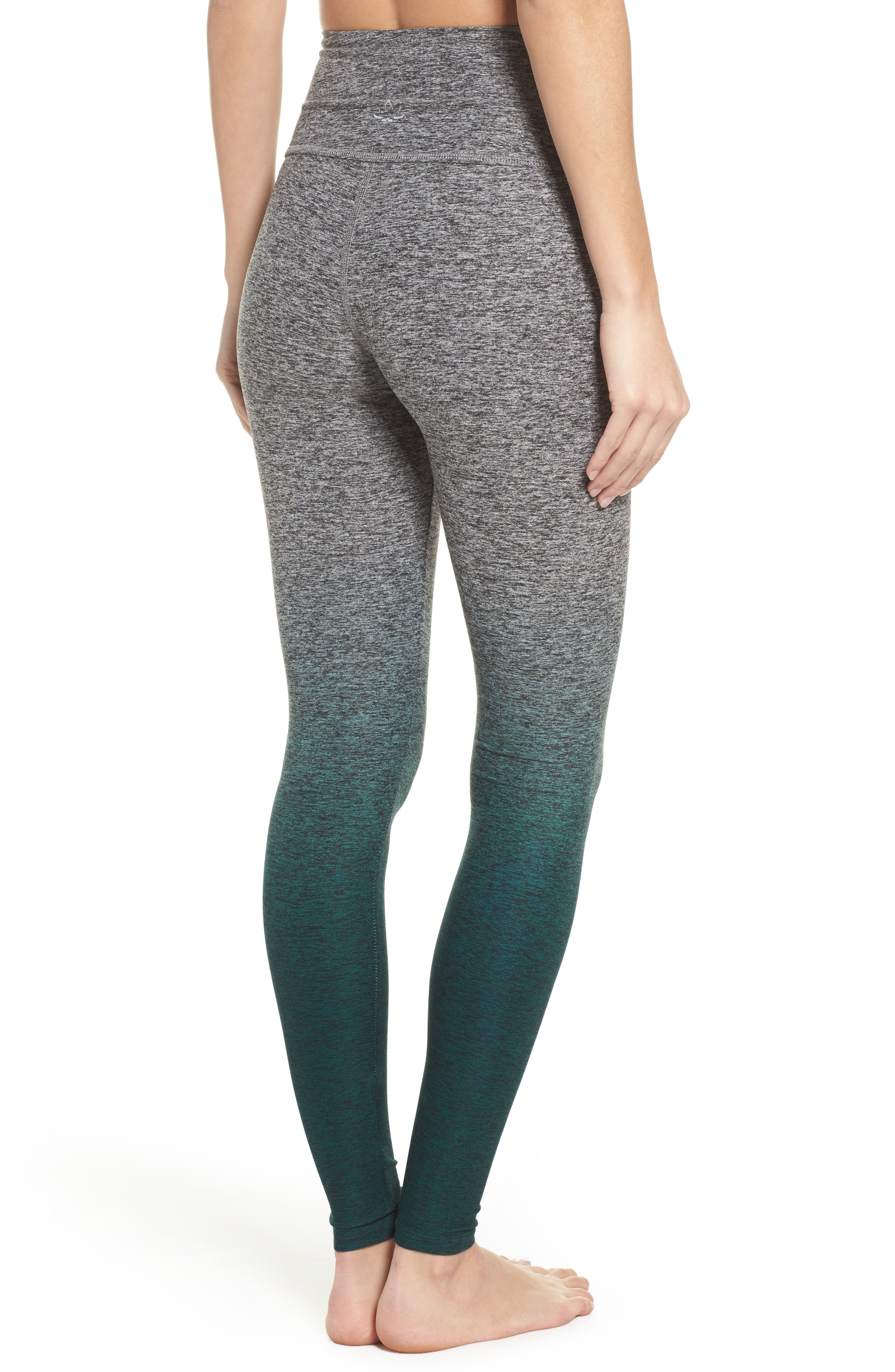 Alternate Image 2  - Beyond Yoga Space Dye High Waist Leggings