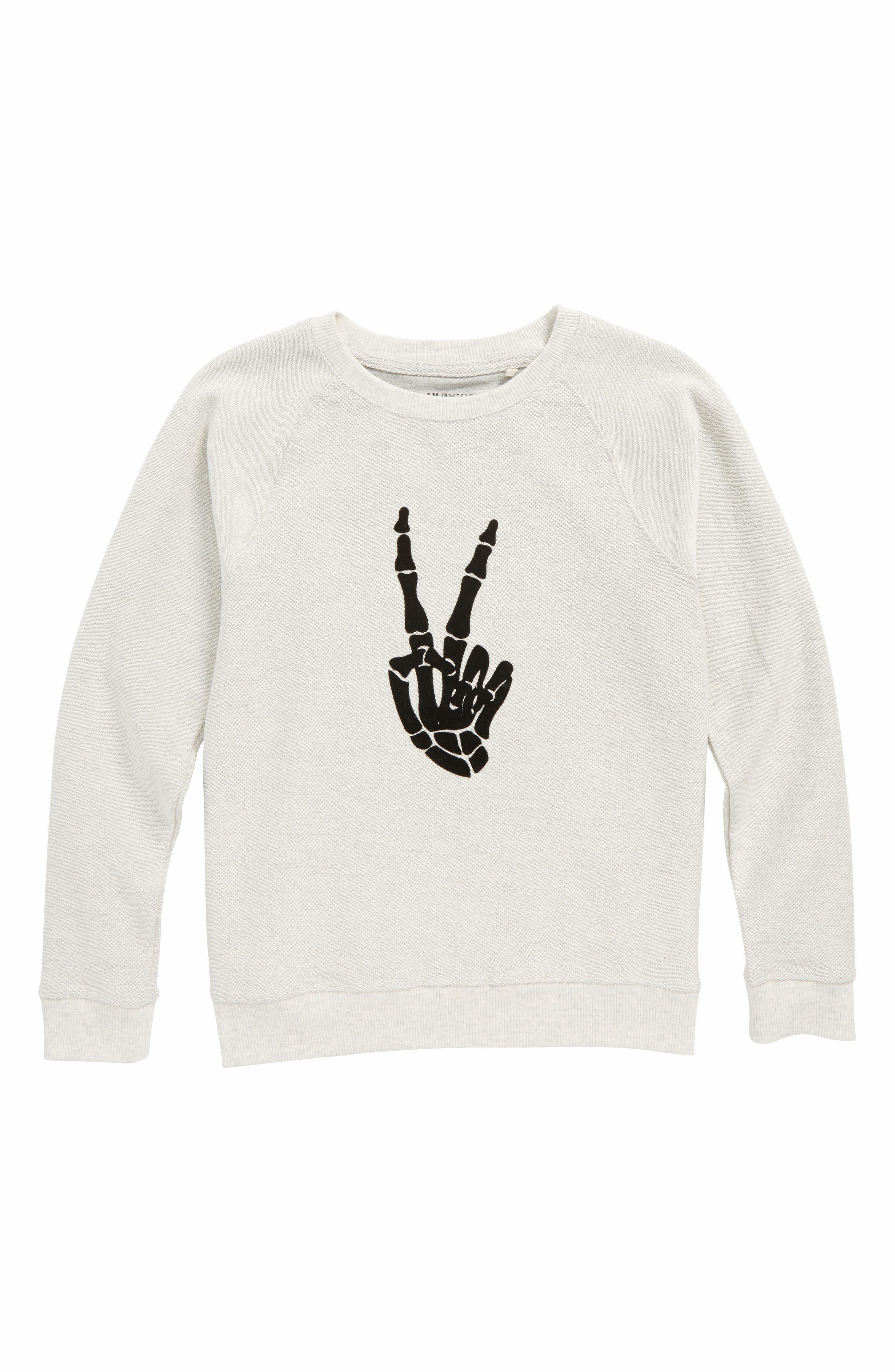 Vibes Graphic Sweatshirt,                         Main,                         color, Quicksilver
