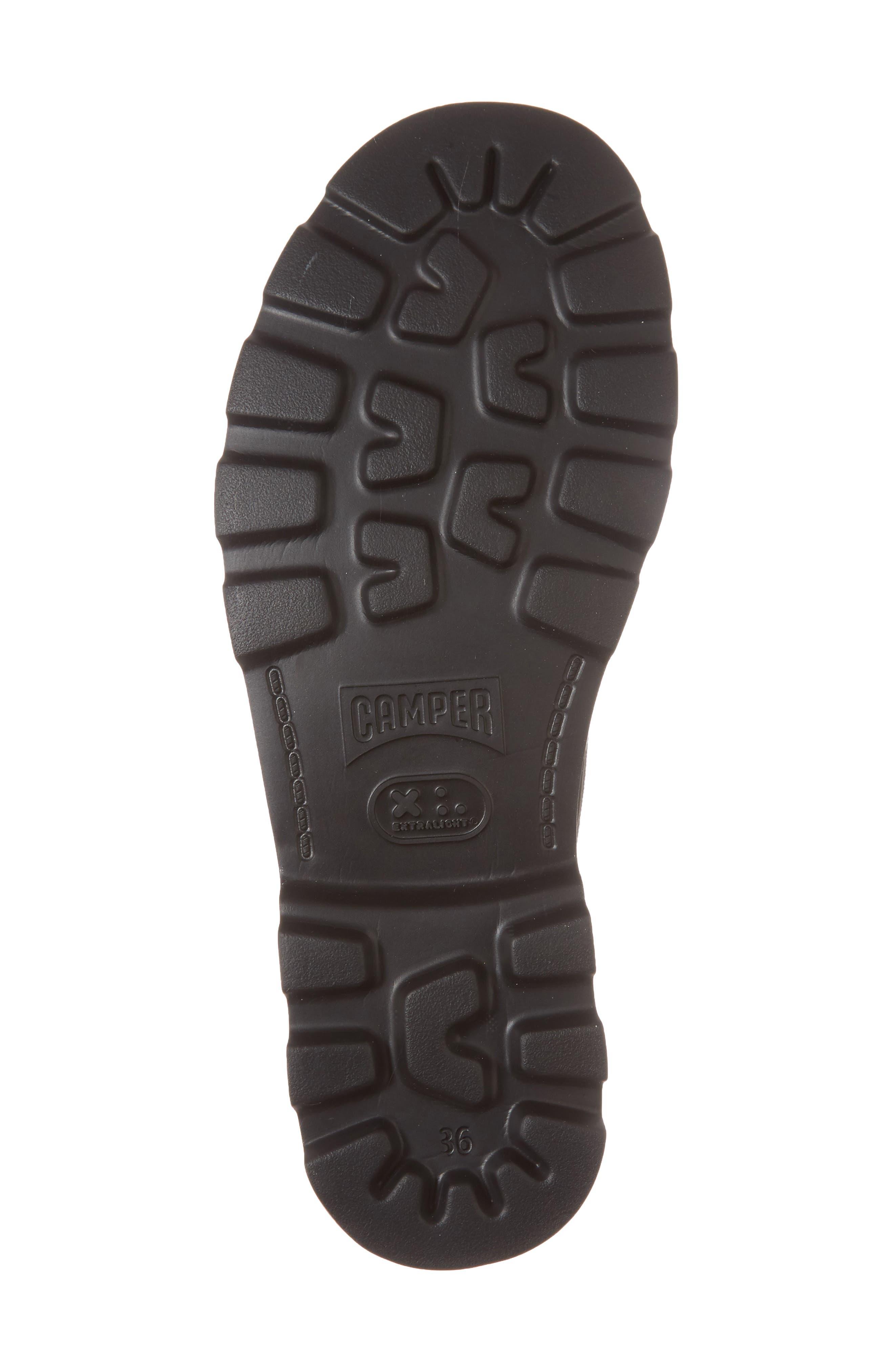 Brutus Lugged Platform Sneaker,                             Alternate thumbnail 6, color,                             Black Multi