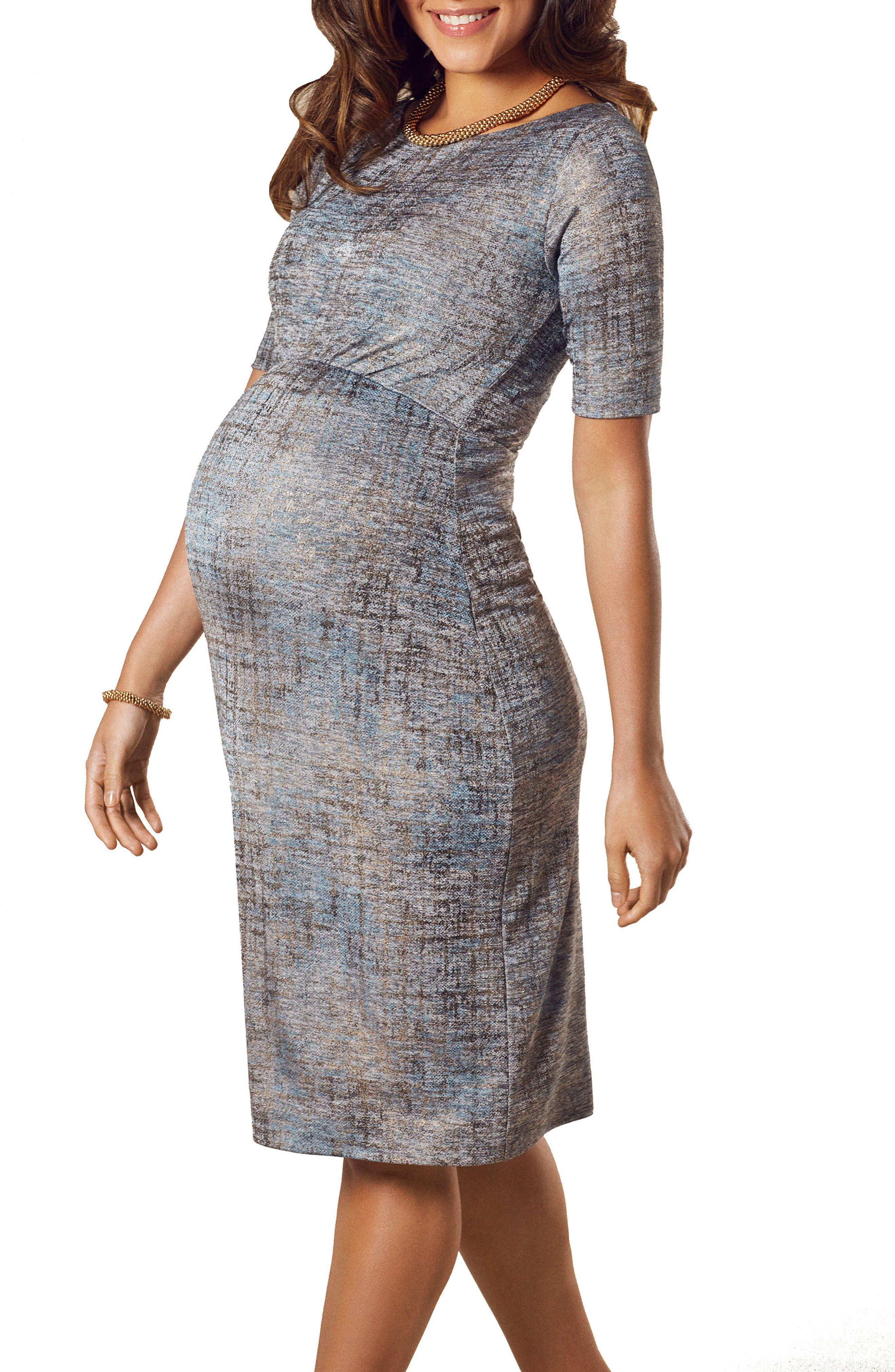 Alternate Image 3  - Tiffany Rose Anna Maternity Shift Dress