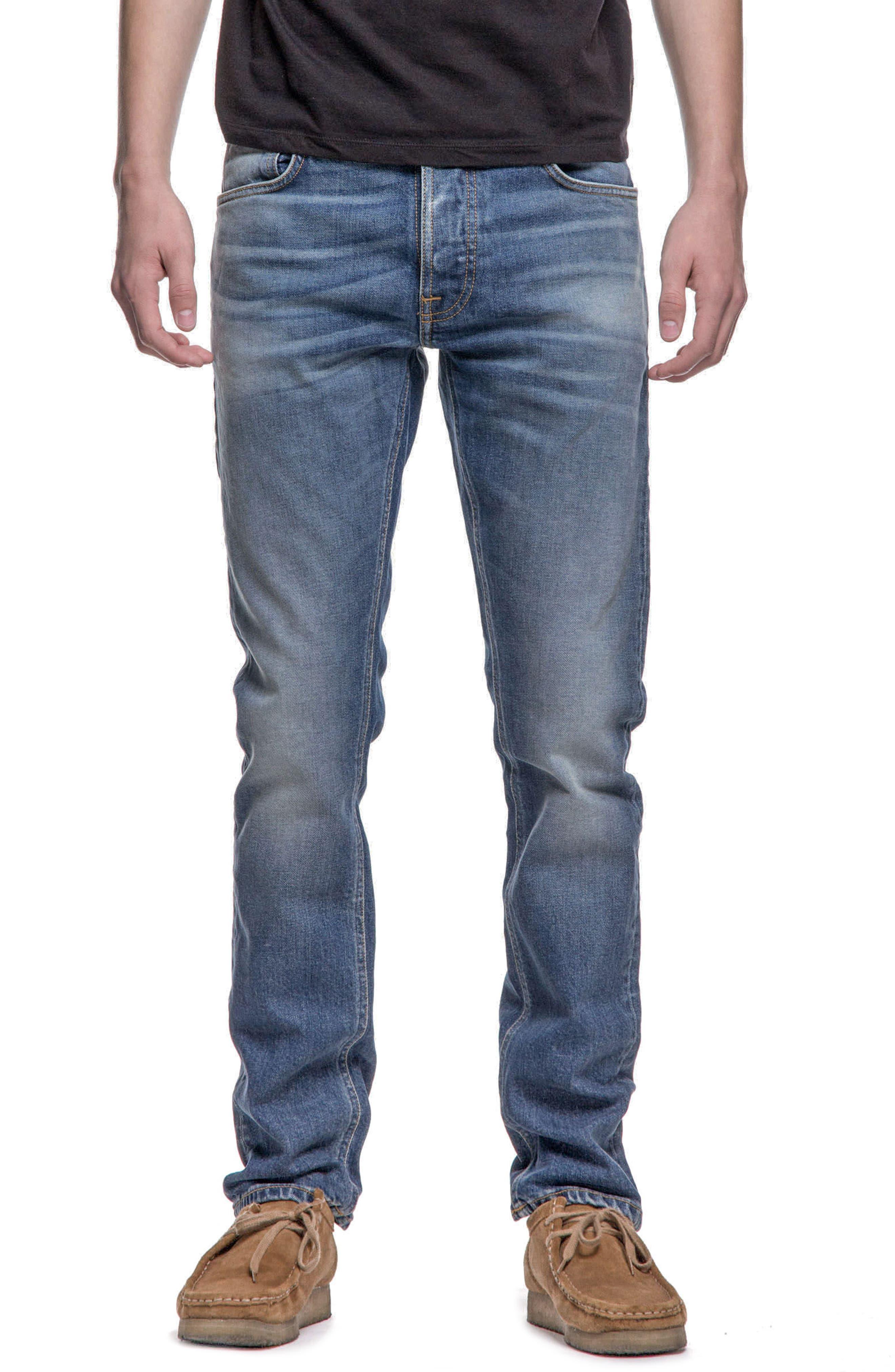 Nudie Jeans Grim Tim Slim Fit Jeans (Conjunctions)