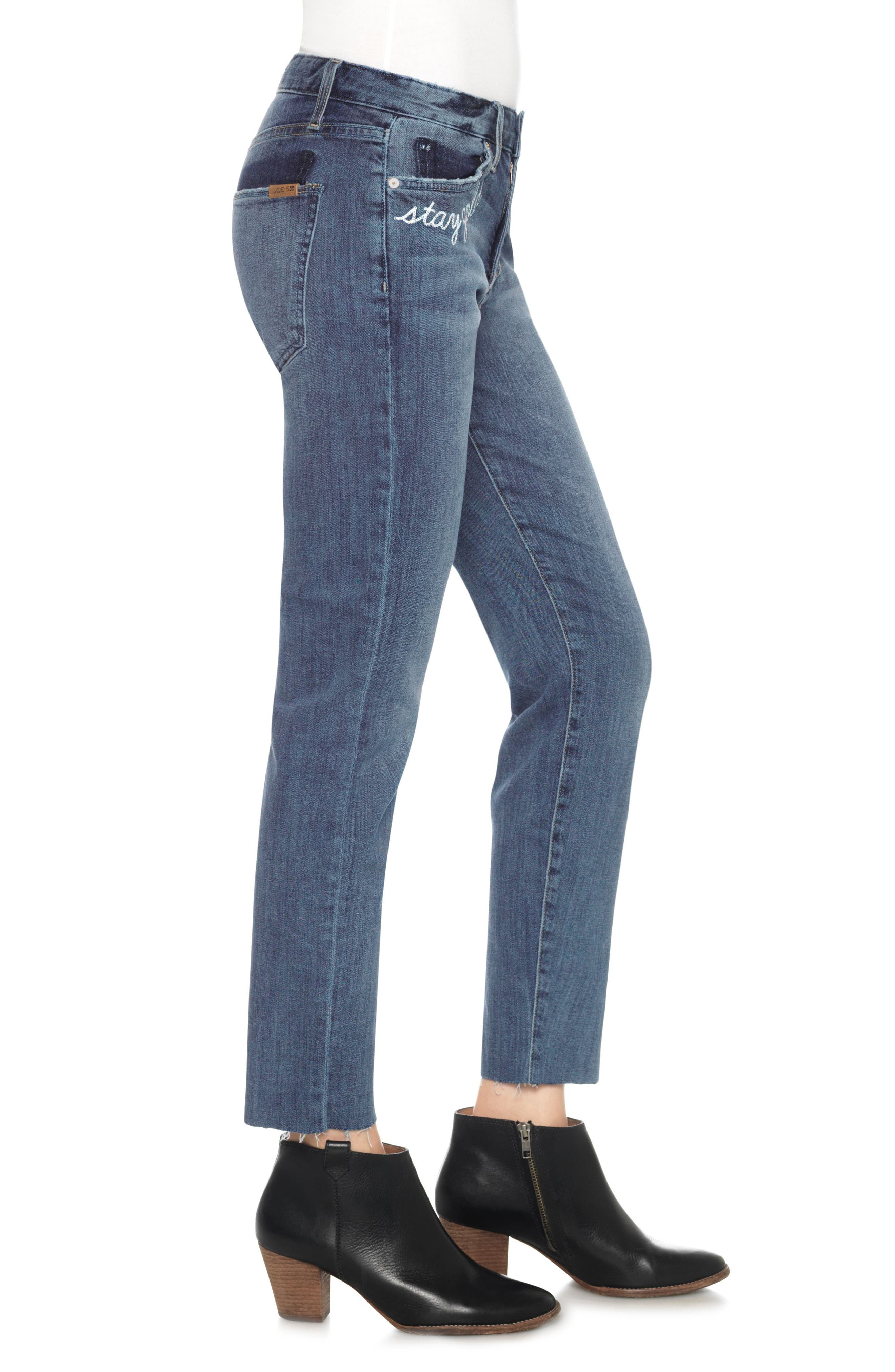 Alternate Image 3  - Joe's The Smith Stay Gold Ankle Jeans (Clenna)
