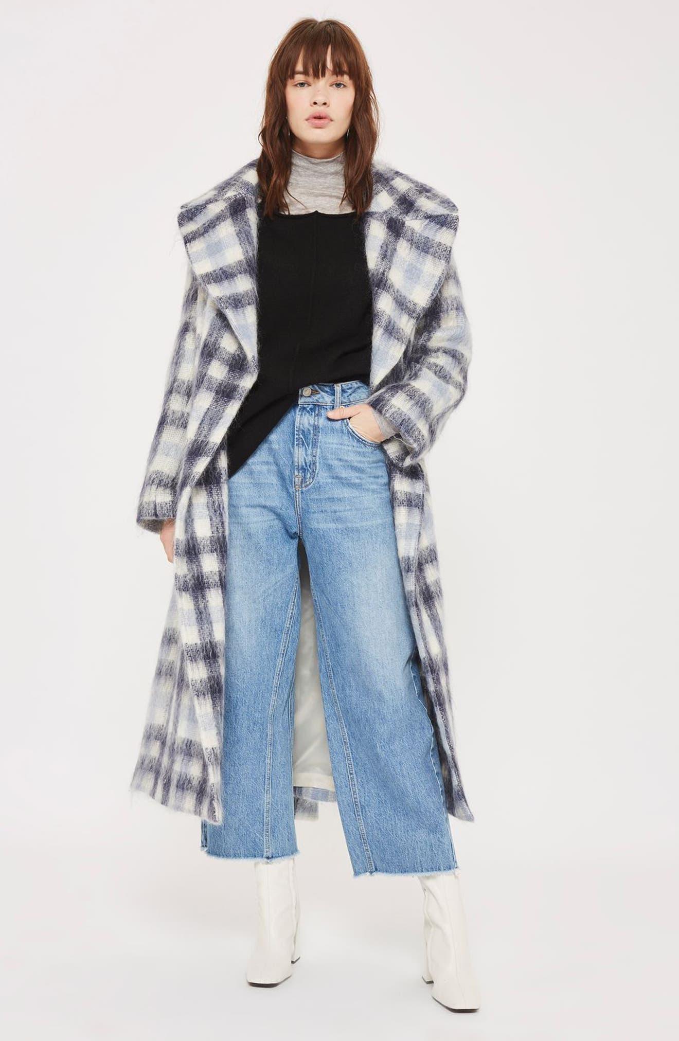 Alternate Image 2  - Topshop Exposed Seam Sweater