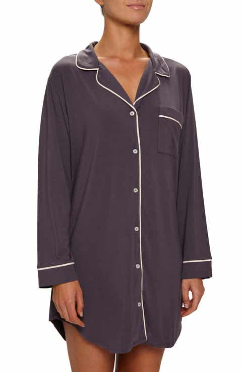 Eberjey Gisele Stretch Jersey Sleep Shirt