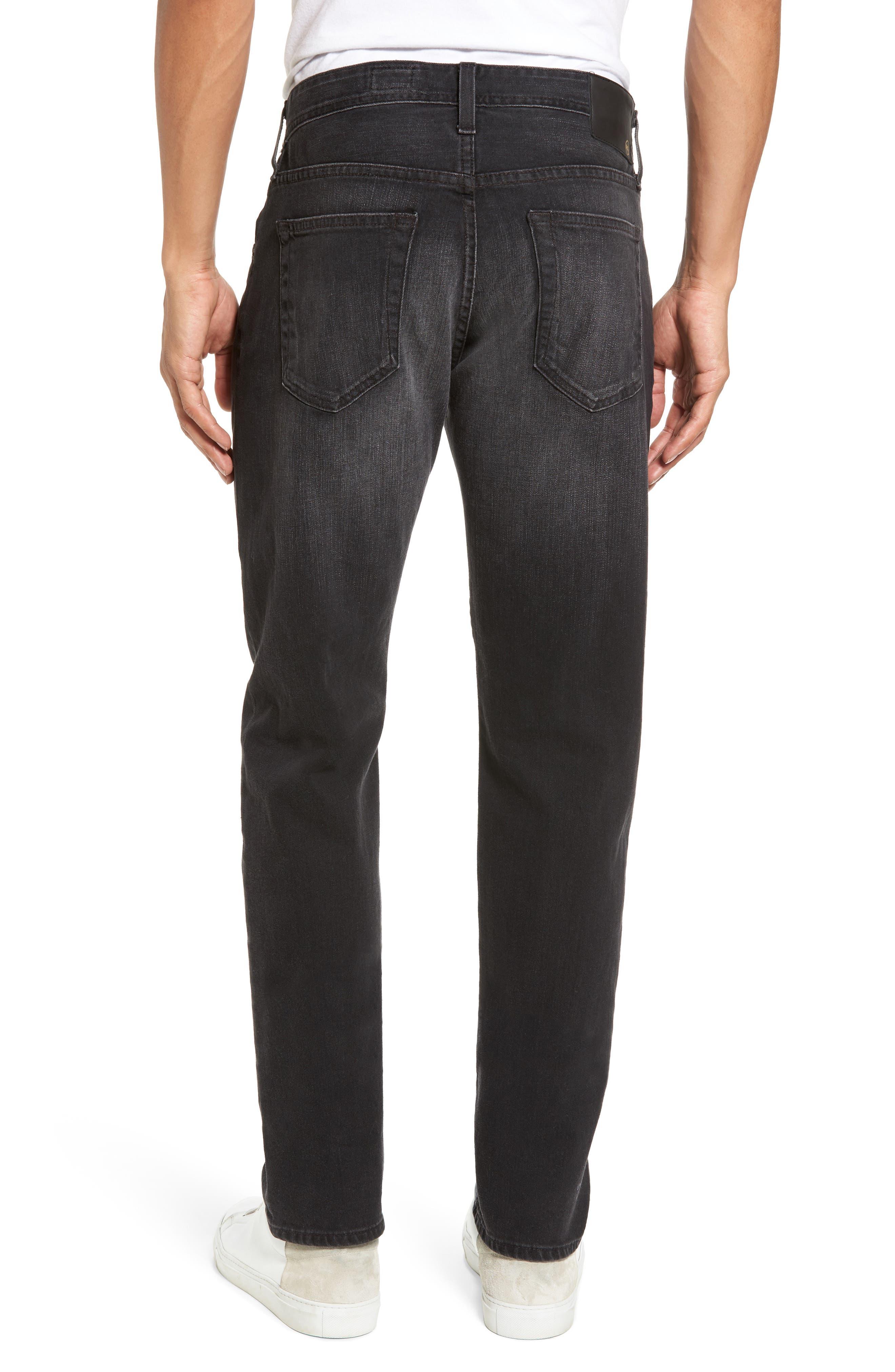 Tellis Modern Slim Fit Jeans,                             Alternate thumbnail 2, color,                             Smudged Black