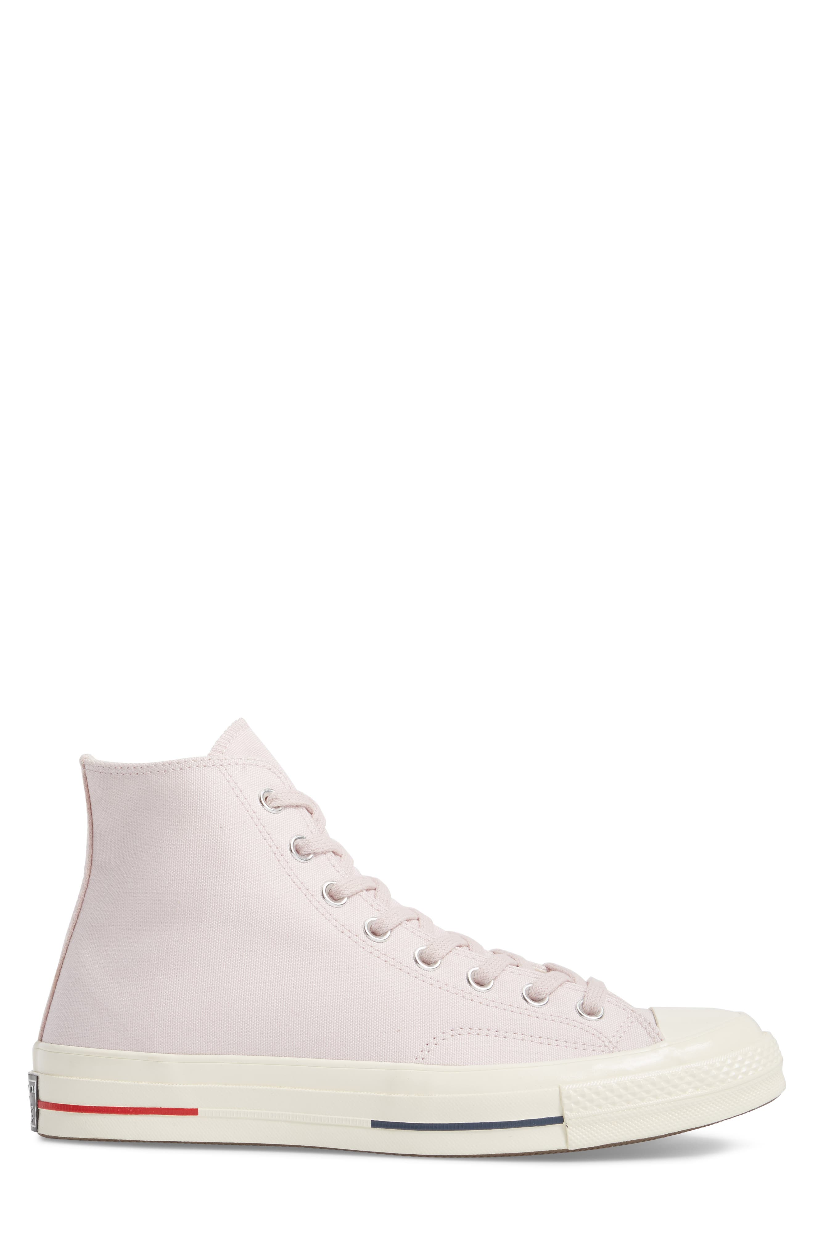 Chuck Taylor<sup>®</sup> All Star<sup>®</sup> '70 Heritage High Top Sneaker,                             Alternate thumbnail 3, color,                             Barely Rose