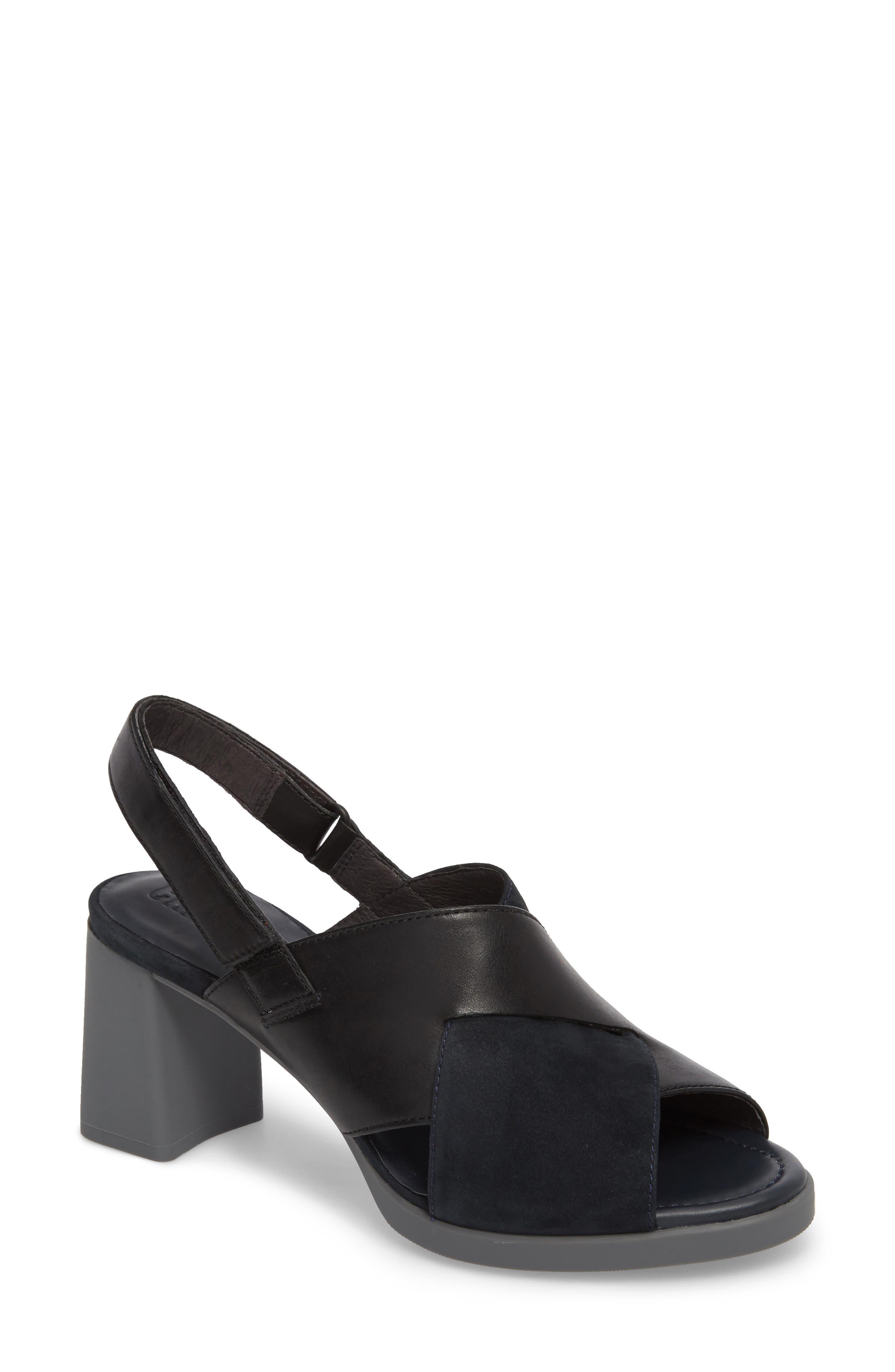 Alternate Image 1 Selected - Camper Kara Cross Strap Sandal (Women)