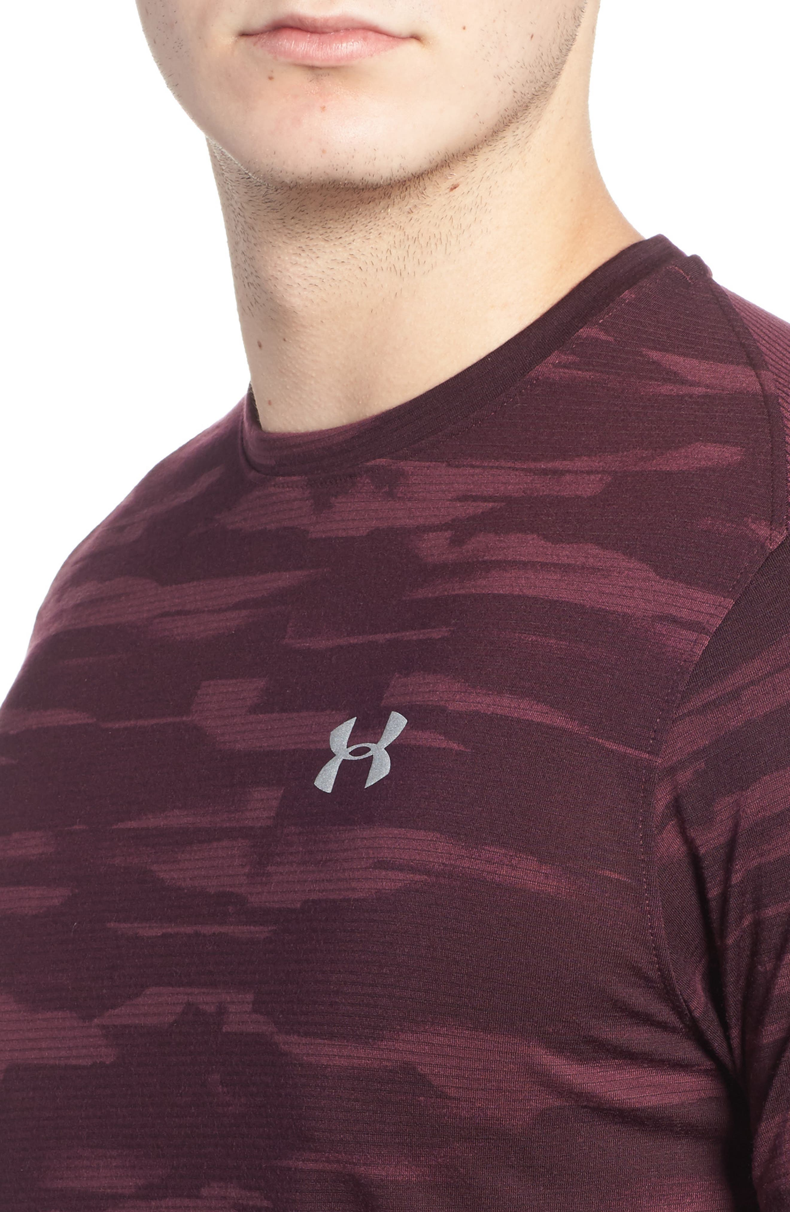 Alternate Image 4  - Under Armour Threadborne Mesh Running T-Shirt