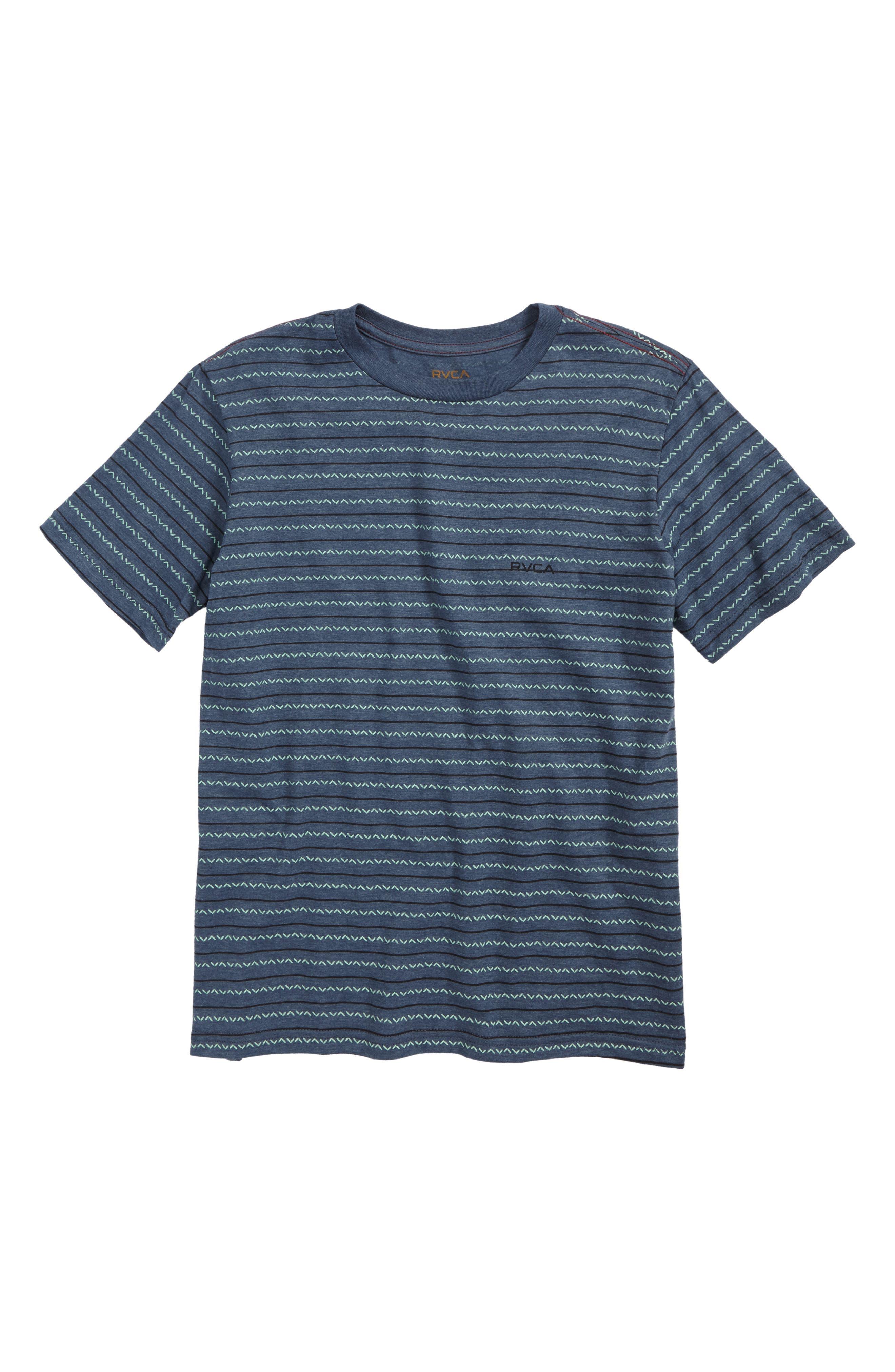 RVCA Chevron Stripe T-Shirt (Big Boys)